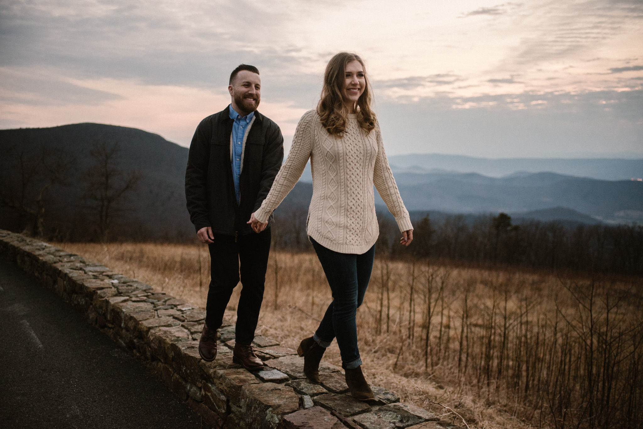 Nicole and Victor - Shenandoah National Park Engagement Photography - Blue Ridge Mountains Adventure Photography - White Sails Creative Photography_50.jpg