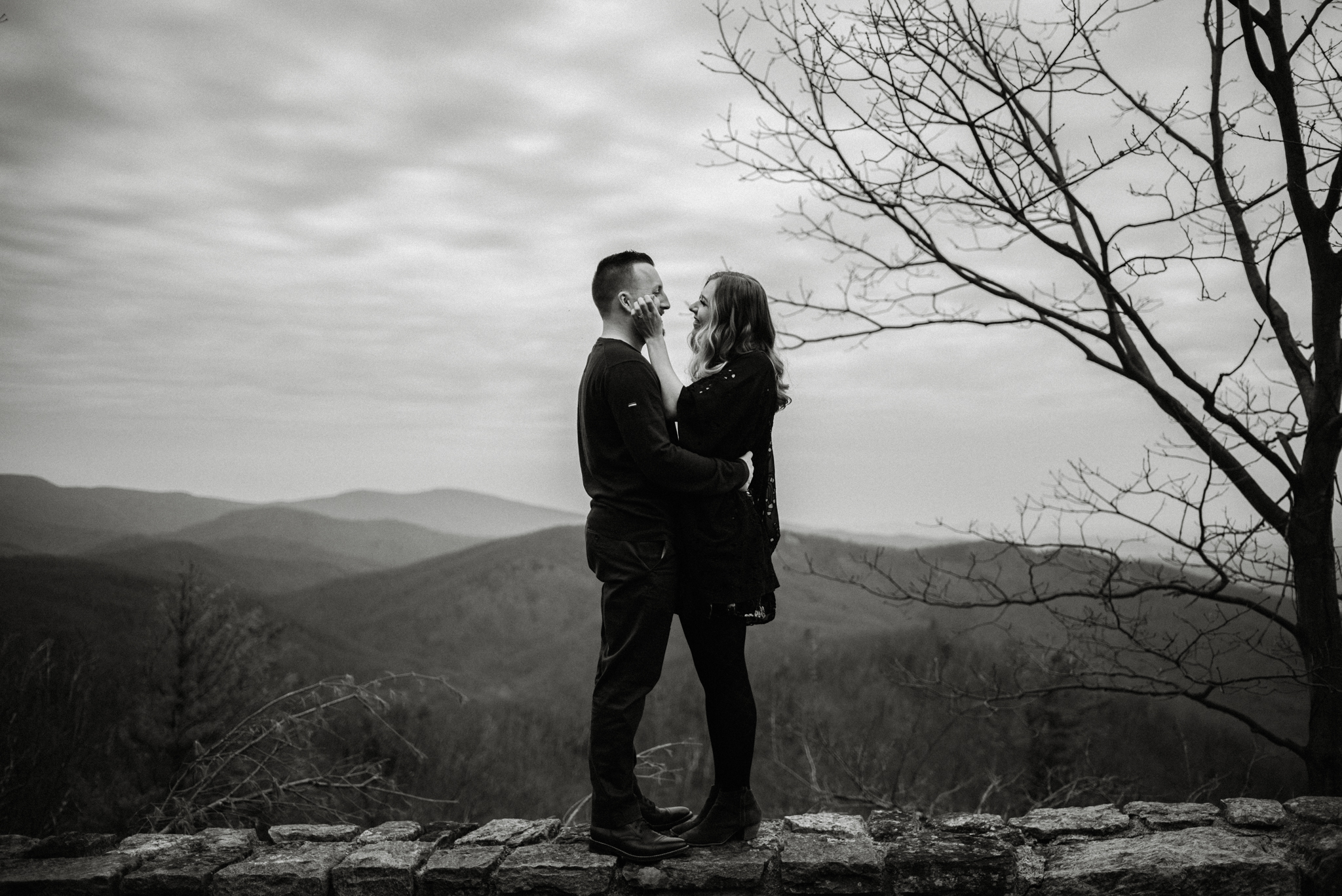 Nicole and Victor - Shenandoah National Park Engagement Photography - Blue Ridge Mountains Adventure Photography - White Sails Creative Photography.jpg