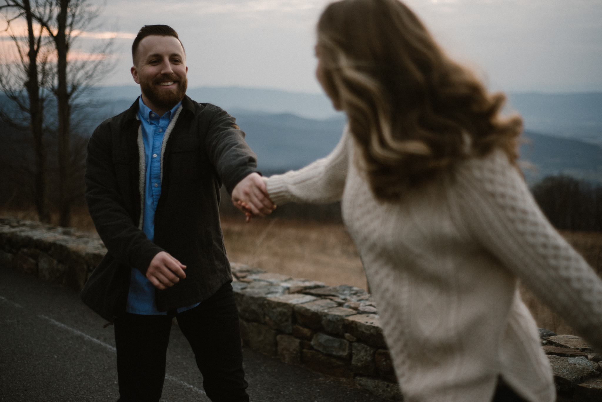 Nicole and Victor - Shenandoah National Park Engagement Photography - Blue Ridge Mountains Adventure Photography - White Sails Creative Photography_51.jpg