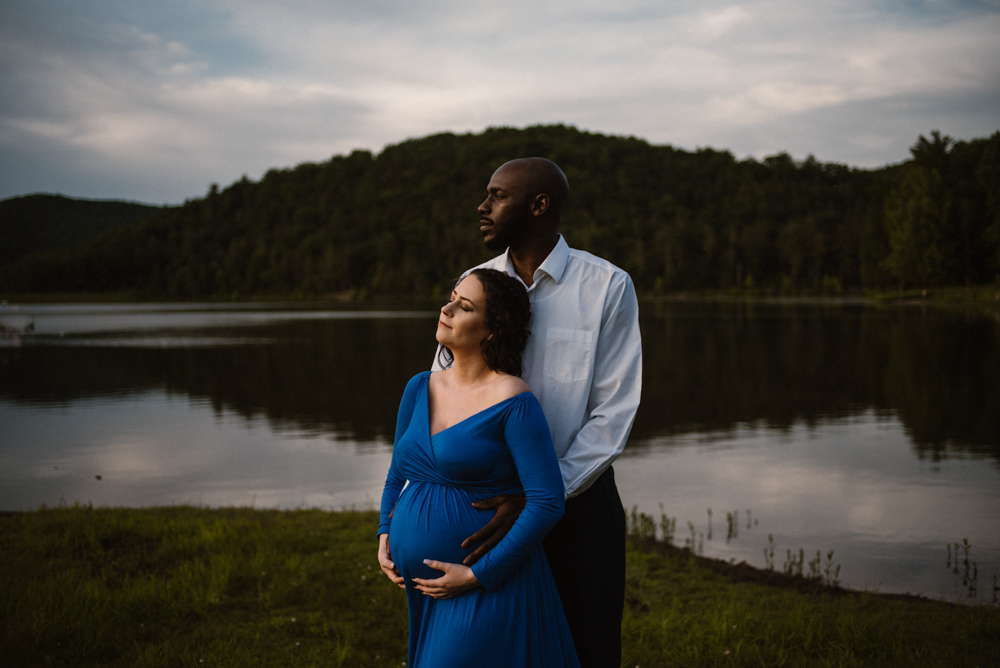 Rachel and Eric Adventurous Lake Maternity Session  Luray Virginia Maternity Photographer Blue Ridge Mountains_2.jpg