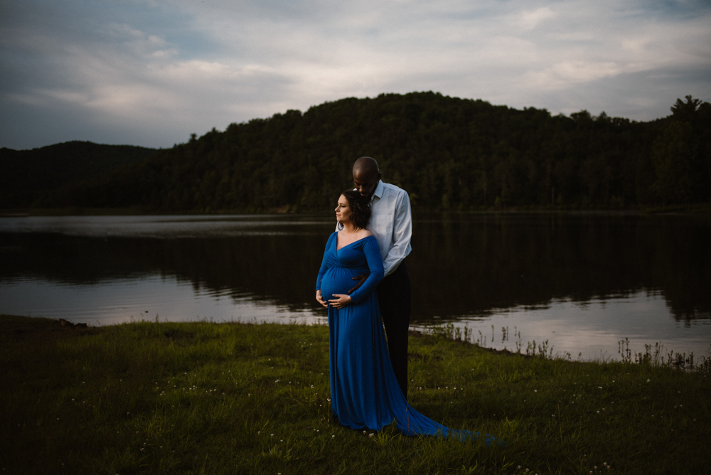 Rachel and Eric Adventurous Lake Maternity Session  Luray Virginia Maternity Photographer Blue Ridge Mountains_1.jpg