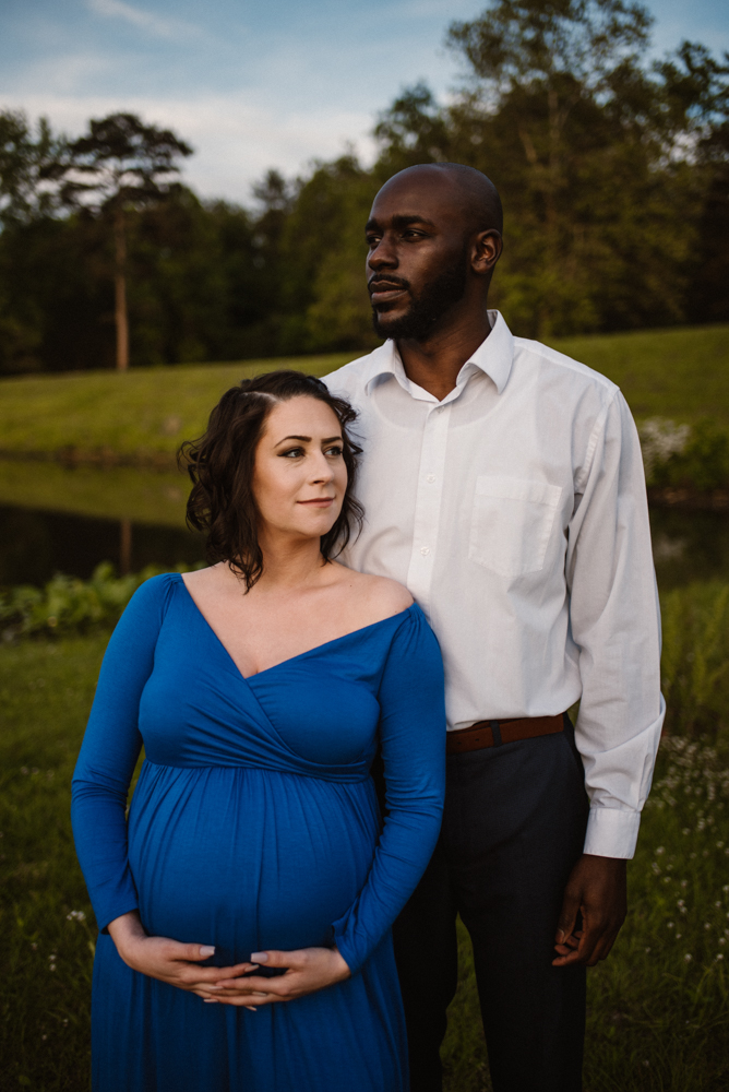 Rachel and Eric Adventurous Lake Maternity Session  Luray Virginia Maternity Photographer Blue Ridge Mountains_4.jpg