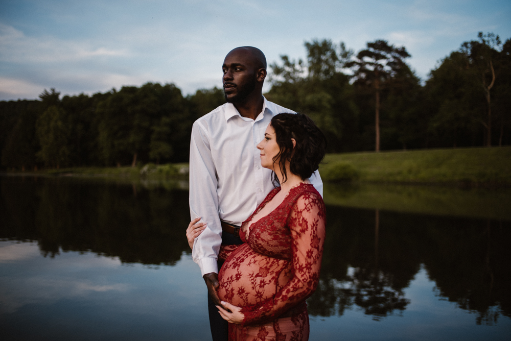 Rachel and Eric Adventurous Lake Maternity Session  Luray Virginia Maternity Photographer Blue Ridge Mountains_7.jpg