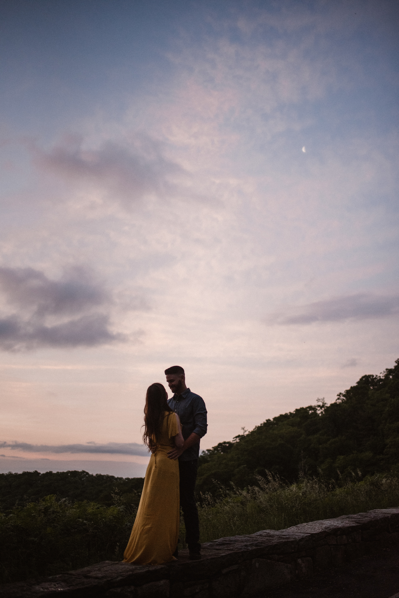 Camryn and Larry Sunrise Engagement Session in Shenandoah National Park - Things to Do in Luray Virginia - Adventurous Couple Photo Shoot White Sails Creative_19.jpg