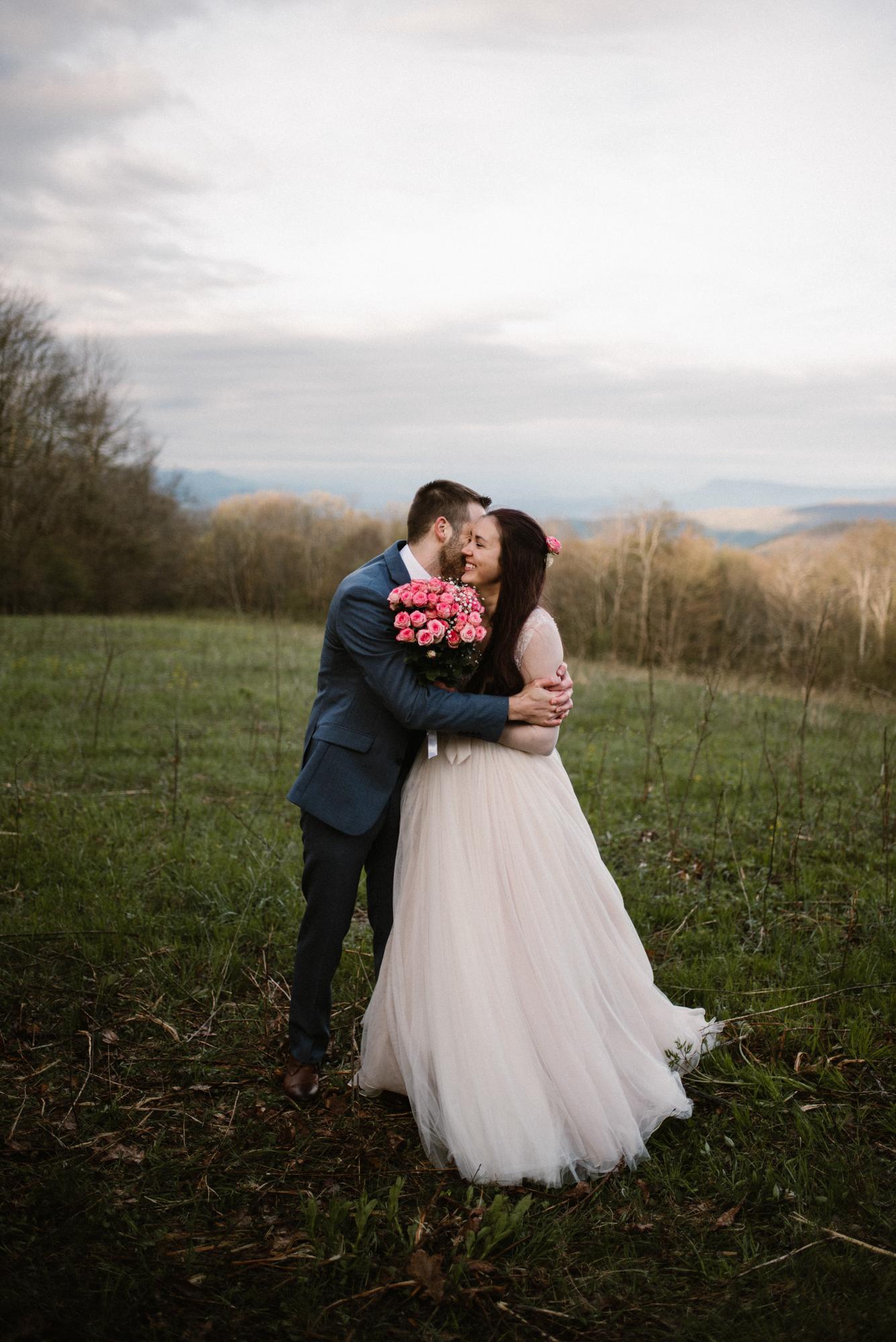 Paula and Andrew - Small Adventurous Wedding in Shenandoah National Park - Blue Ridge Mountain Wedding - White Sails Creative - Mountain Elopement_28.jpg