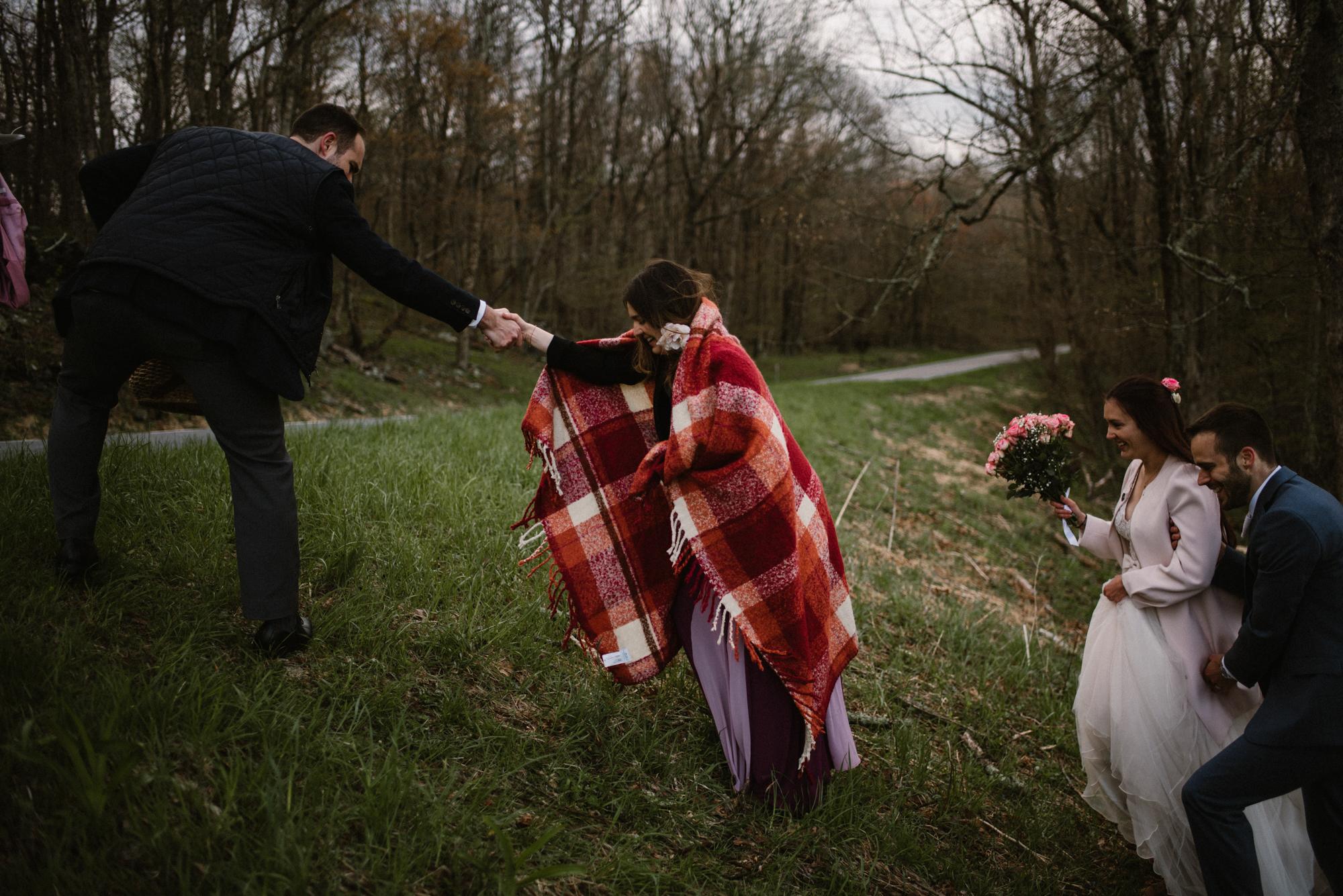 Paula and Andrew - Small Adventurous Wedding in Shenandoah National Park - Blue Ridge Mountain Wedding - White Sails Creative - Mountain Elopement_31.jpg