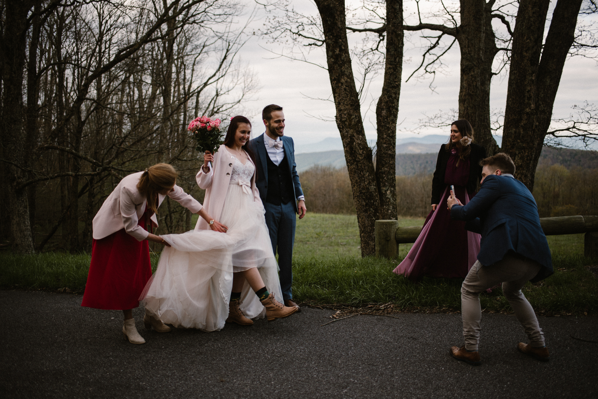 Paula and Andrew - Small Adventurous Wedding in Shenandoah National Park - Blue Ridge Mountain Wedding - White Sails Creative - Mountain Elopement_32.jpg