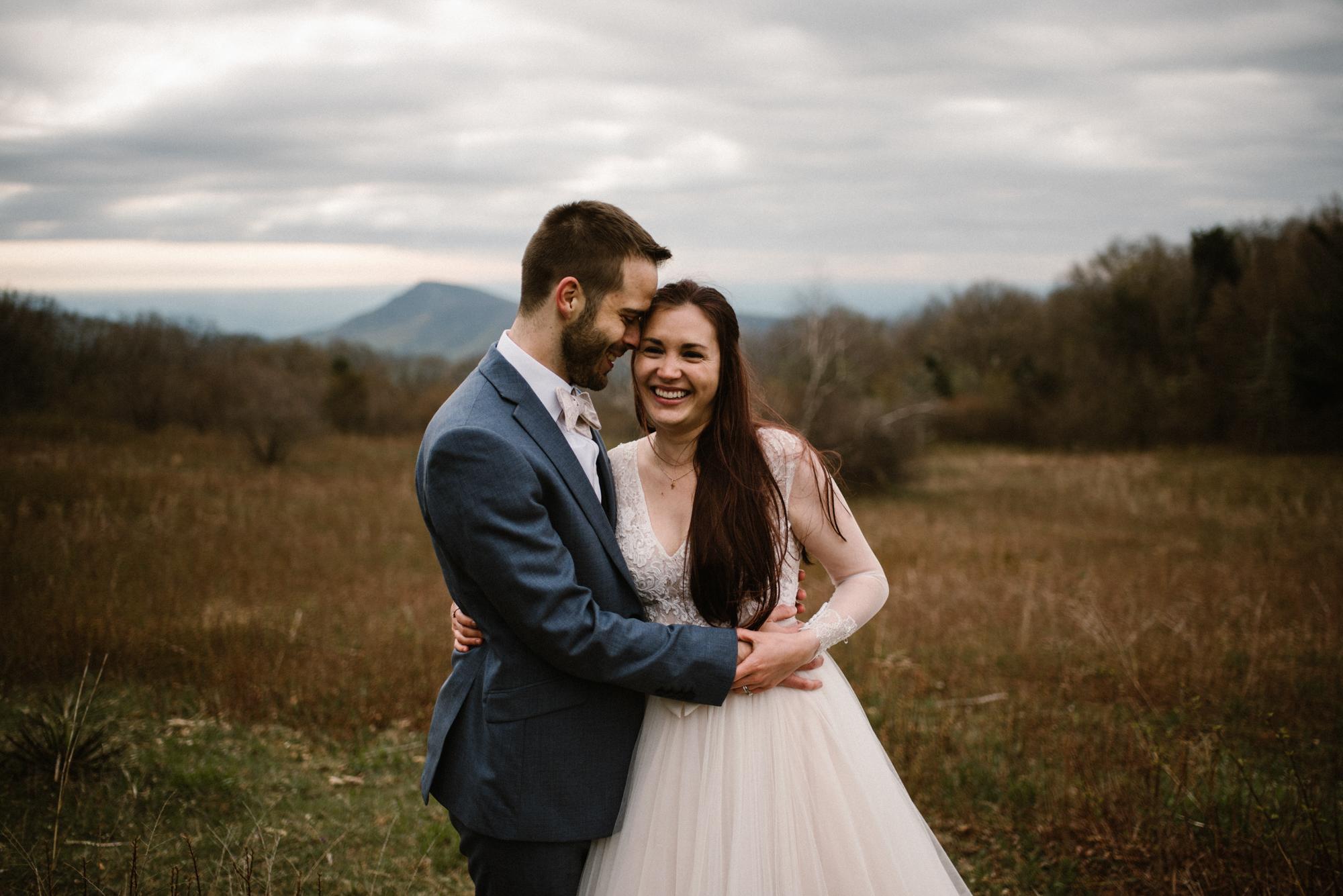 Paula and Andrew - Small Adventurous Wedding in Shenandoah National Park - Blue Ridge Mountain Wedding - White Sails Creative - Mountain Elopement_40.jpg