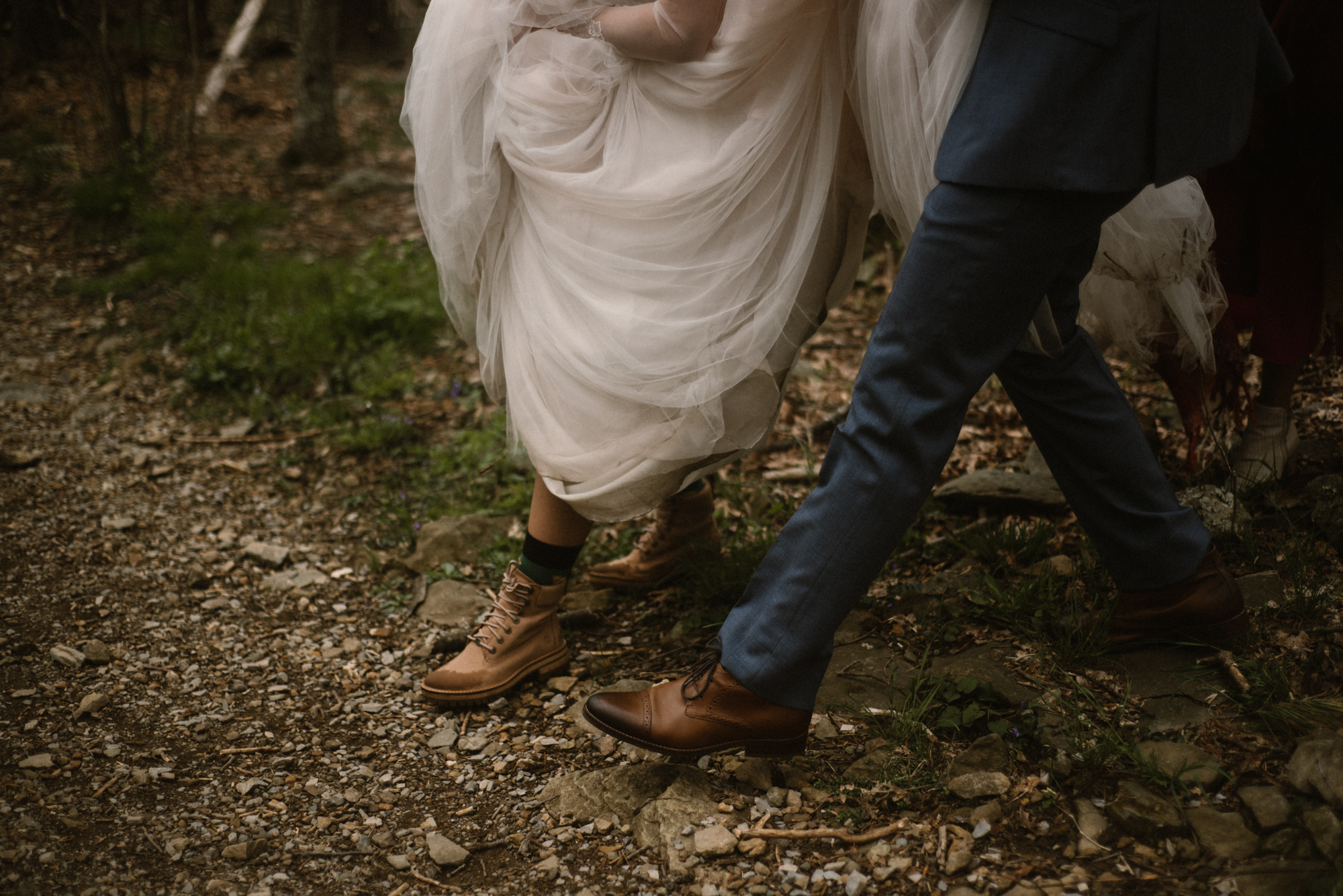 Paula and Andrew - Small Adventurous Wedding in Shenandoah National Park - Blue Ridge Mountain Wedding - White Sails Creative - Mountain Elopement_46.jpg