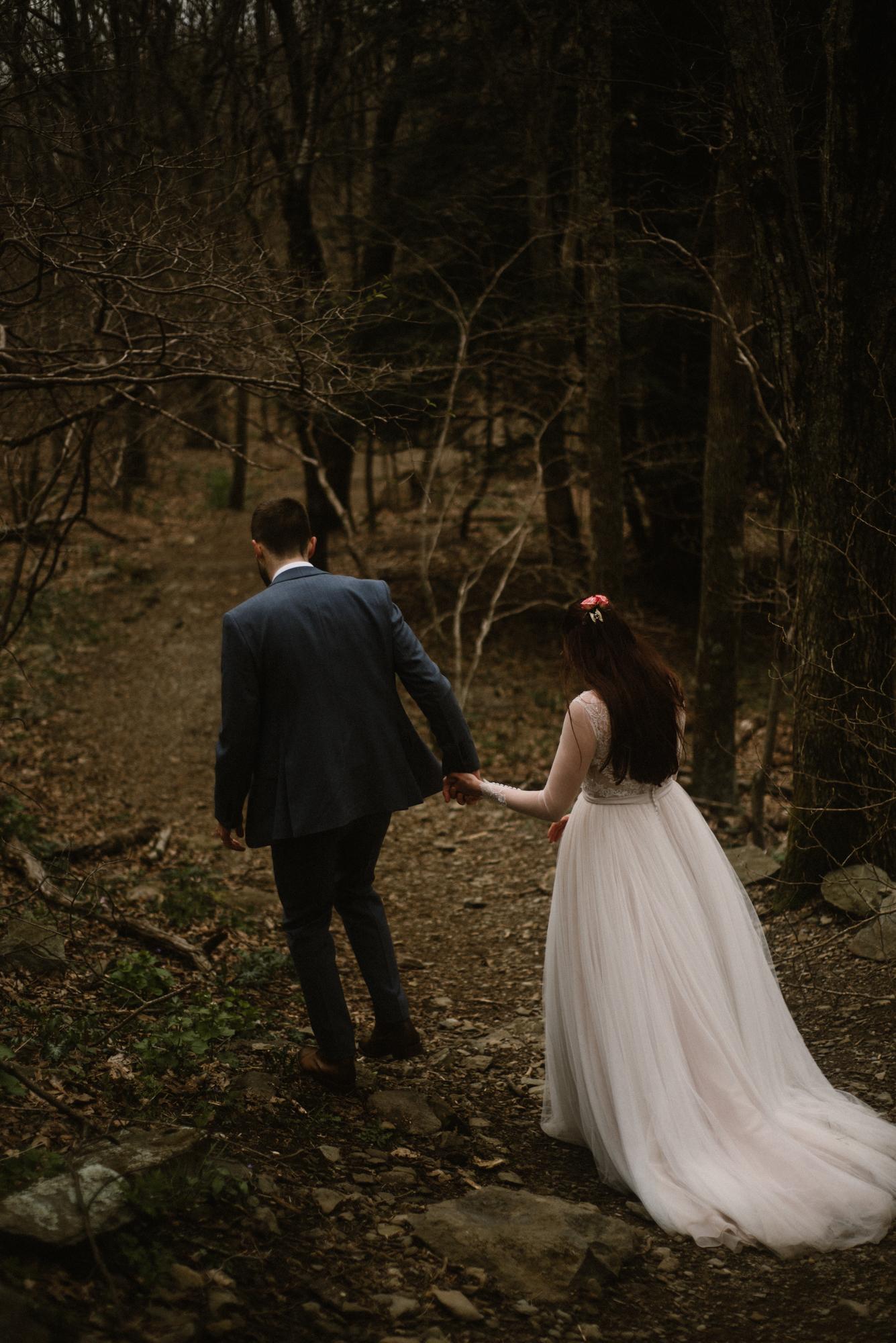 Paula and Andrew - Small Adventurous Wedding in Shenandoah National Park - Blue Ridge Mountain Wedding - White Sails Creative - Mountain Elopement_47.jpg