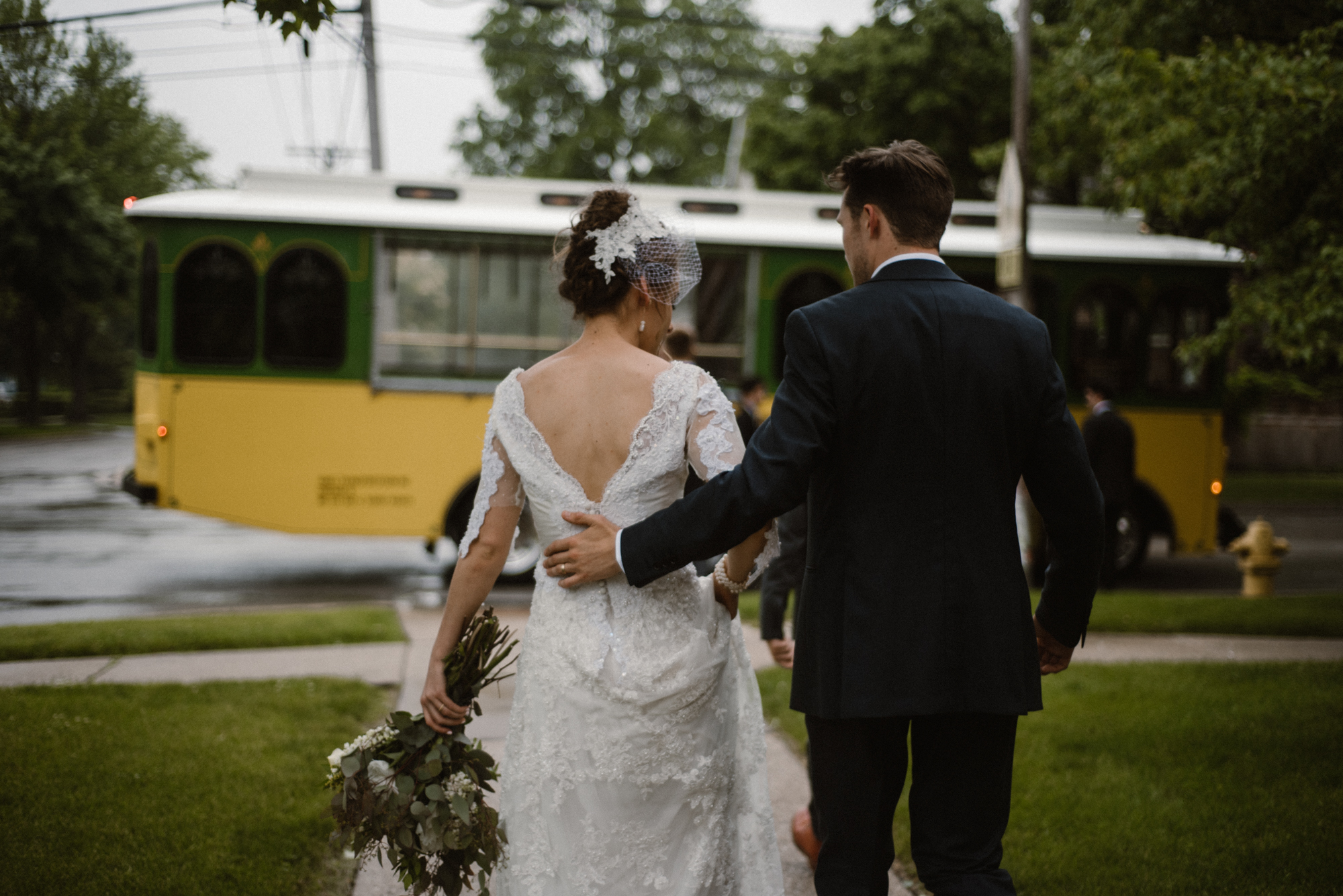 Mairi and Jude - Rainy Backyard Wedding - Intimate Wedding - Fun Reception Photos - Chicago Wedding Photographer - Catholic Wedding - White Sails Creative - Virginia Backyard Wedding Photographer_26.jpg