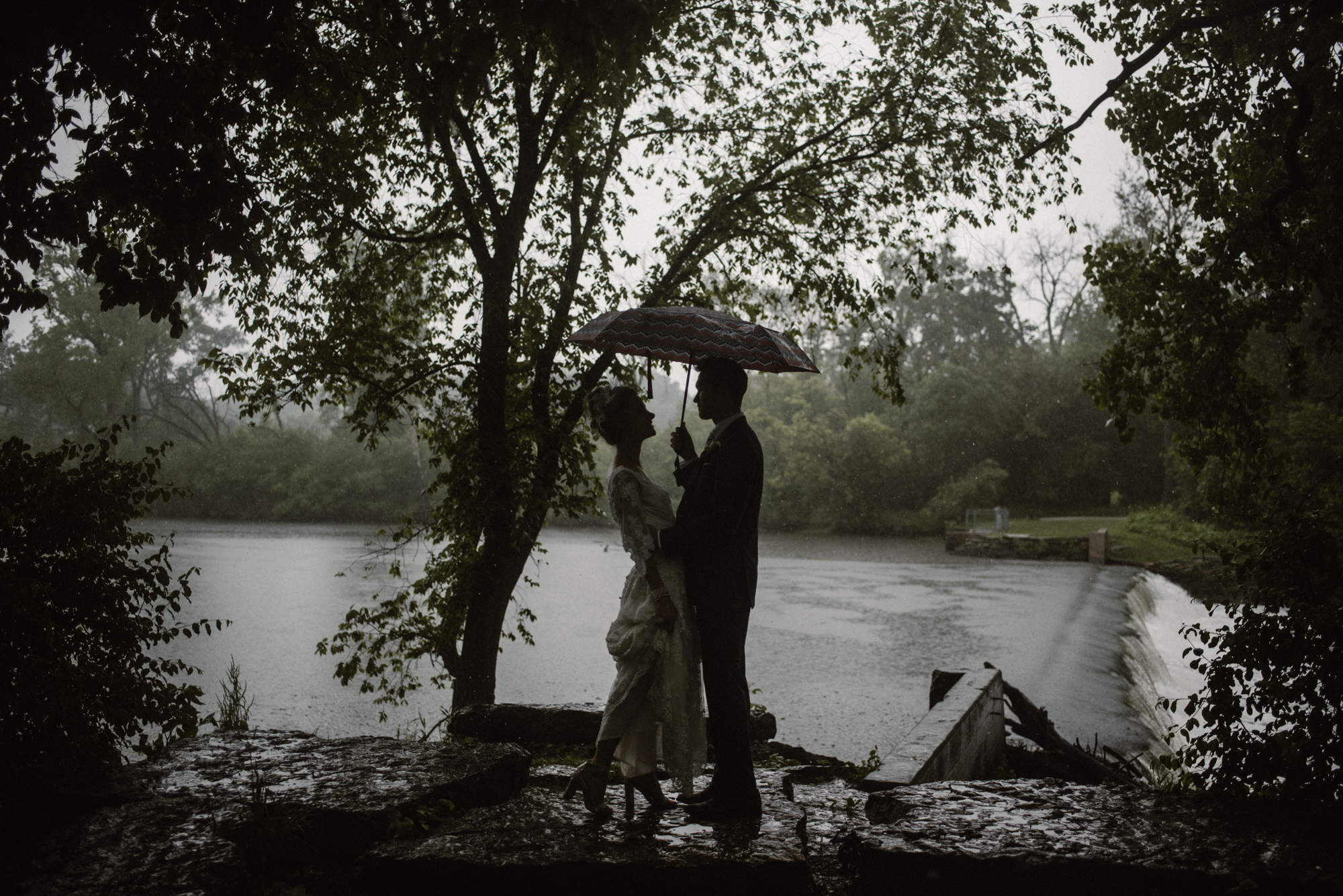 Mairi and Jude - Rainy Backyard Wedding - Intimate Wedding - Fun Reception Photos - Chicago Wedding Photographer - Catholic Wedding - White Sails Creative - Virginia Backyard Wedding Photographer_39.jpg