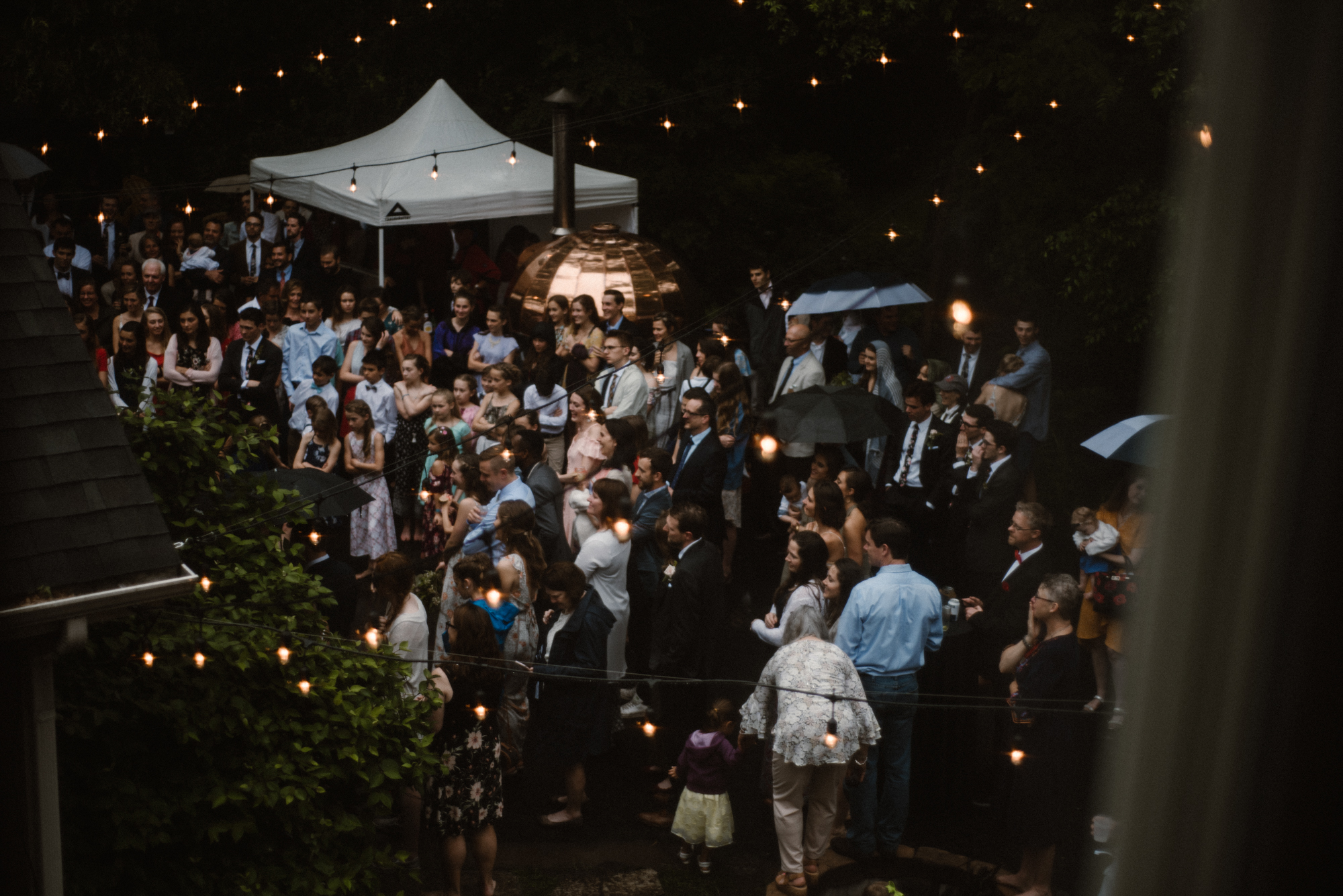 Mairi and Jude - Rainy Backyard Wedding - Intimate Wedding - Fun Reception Photos - Chicago Wedding Photographer - Catholic Wedding - White Sails Creative - Virginia Backyard Wedding Photographer_48.jpg