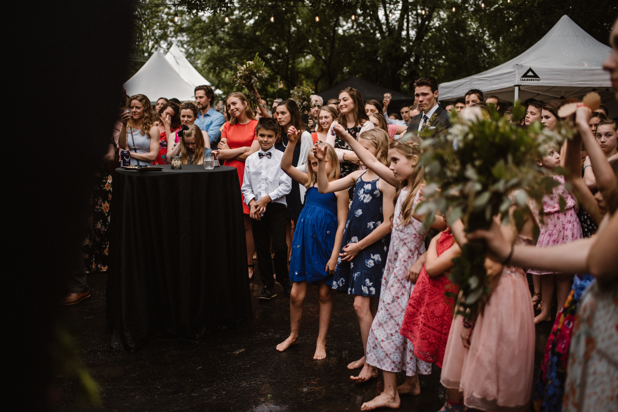 Mairi and Jude - Rainy Backyard Wedding - Intimate Wedding - Fun Reception Photos - Chicago Wedding Photographer - Catholic Wedding - White Sails Creative - Virginia Backyard Wedding Photographer_52.jpg