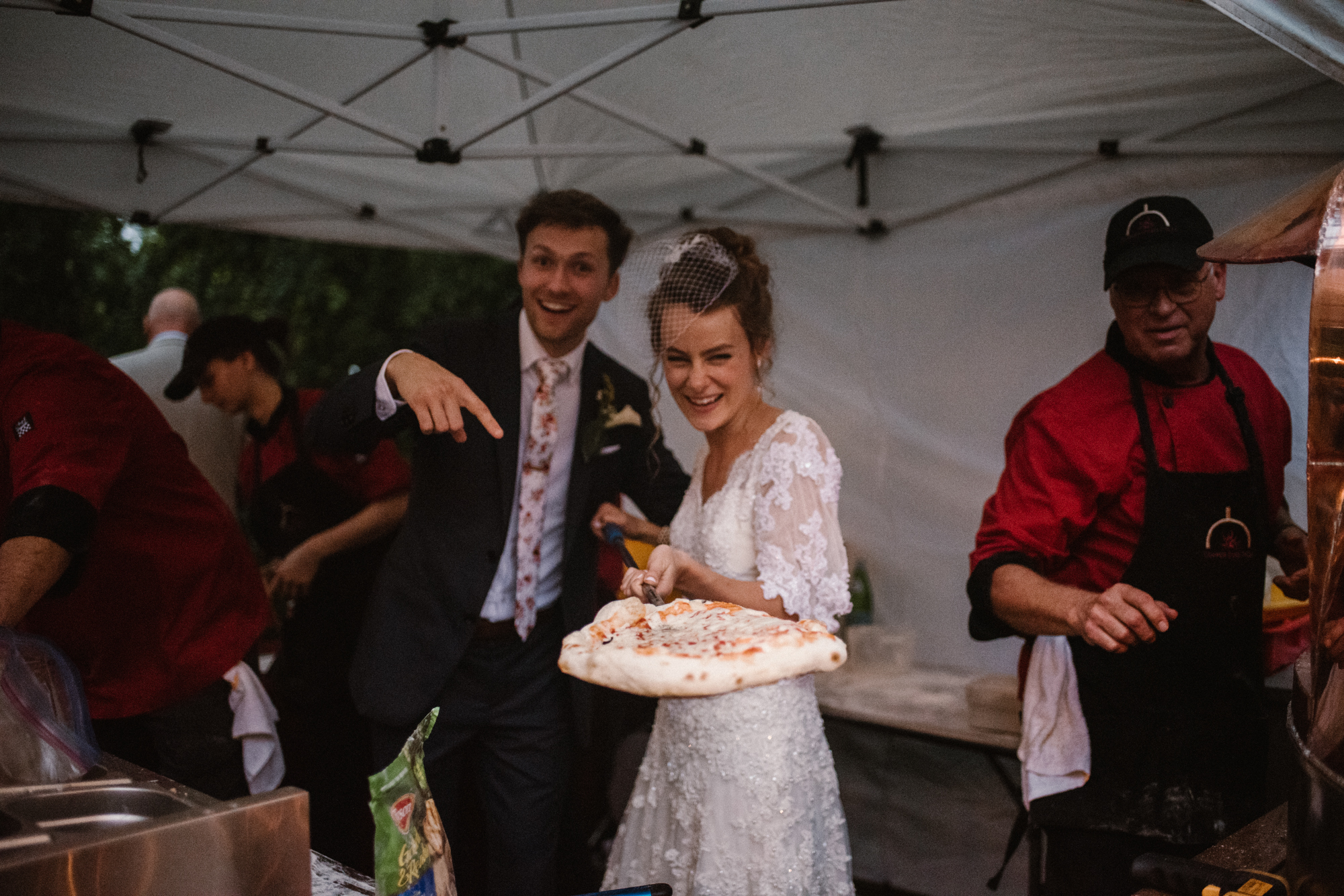 Mairi and Jude - Rainy Backyard Wedding - Intimate Wedding - Fun Reception Photos - Chicago Wedding Photographer - Catholic Wedding - White Sails Creative - Virginia Backyard Wedding Photographer_55.jpg