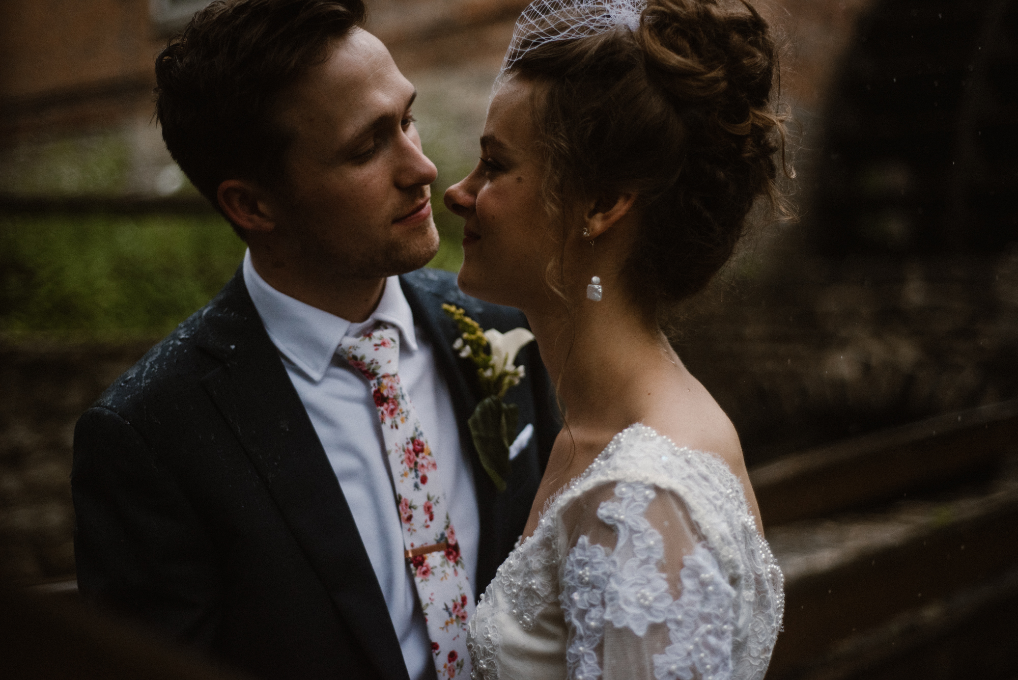 Mairi and Jude - Rainy Backyard Wedding - Intimate Wedding - Fun Reception Photos - Chicago Wedding Photographer - Catholic Wedding - White Sails Creative - Virginia Backyard Wedding Photographer_80.jpg