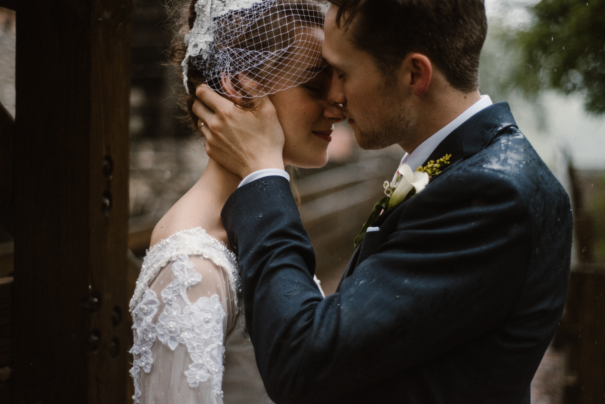 Mairi and Jude - Rainy Backyard Wedding - Intimate Wedding - Fun Reception Photos - Chicago Wedding Photographer - Catholic Wedding - White Sails Creative - Virginia Backyard Wedding Photographer_79.jpg