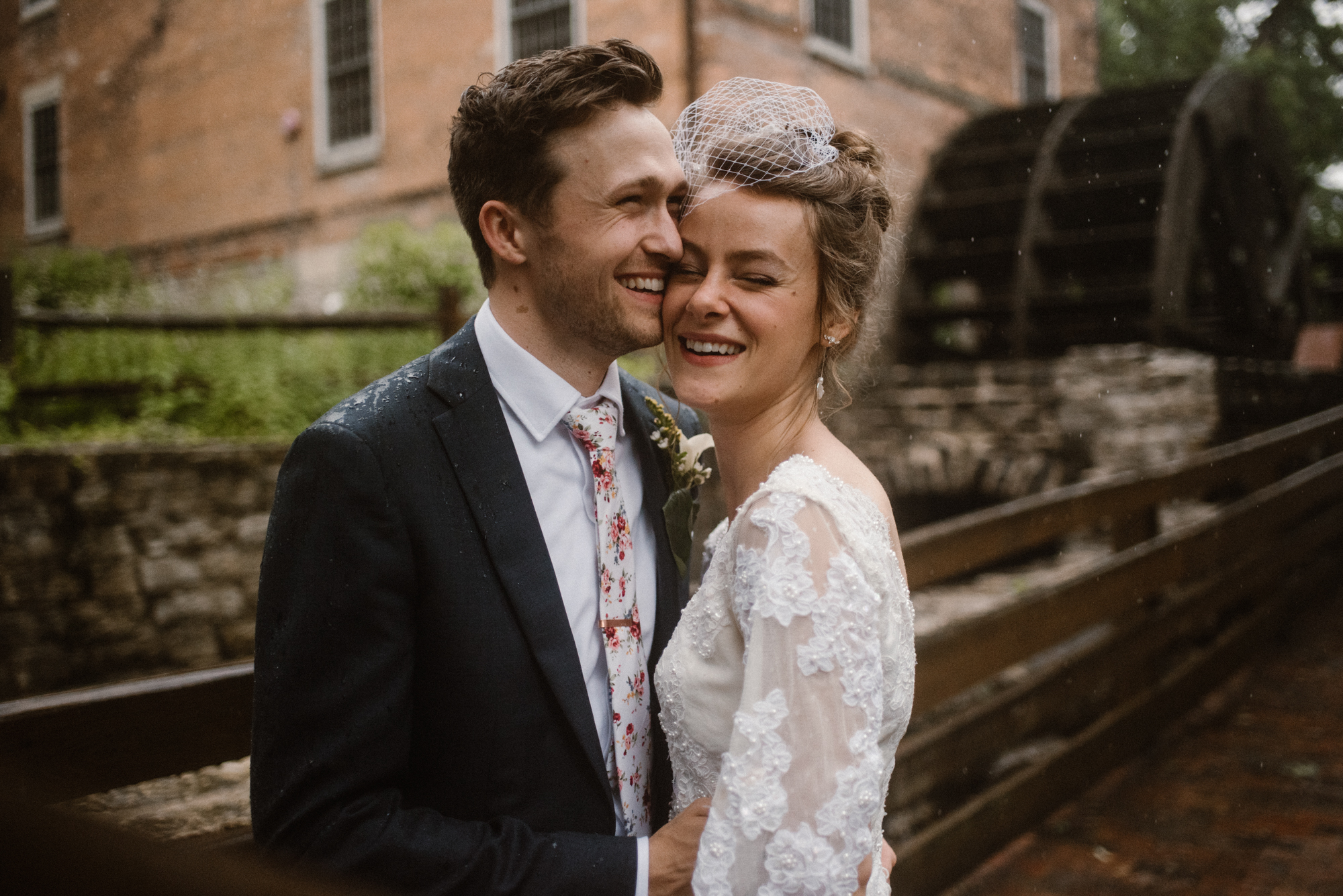 Mairi and Jude - Rainy Backyard Wedding - Intimate Wedding - Fun Reception Photos - Chicago Wedding Photographer - Catholic Wedding - White Sails Creative - Virginia Backyard Wedding Photographer_81.jpg