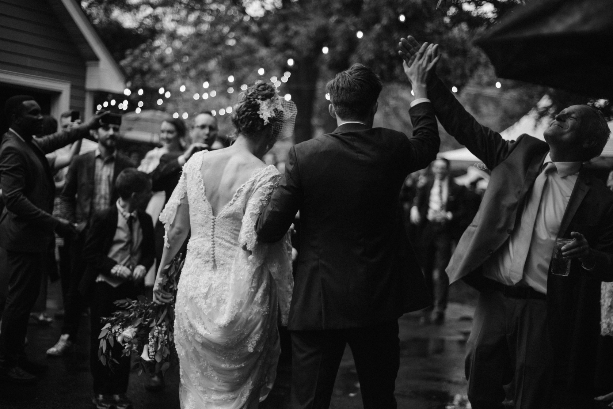 Mairi and Jude - Rainy Backyard Wedding - Intimate Wedding - Fun Reception Photos - Chicago Wedding Photographer - Catholic Wedding - White Sails Creative - Virginia Backyard Wedding Photographer_86.jpg