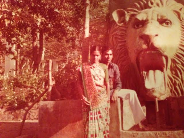 My parents in Mumbai, India