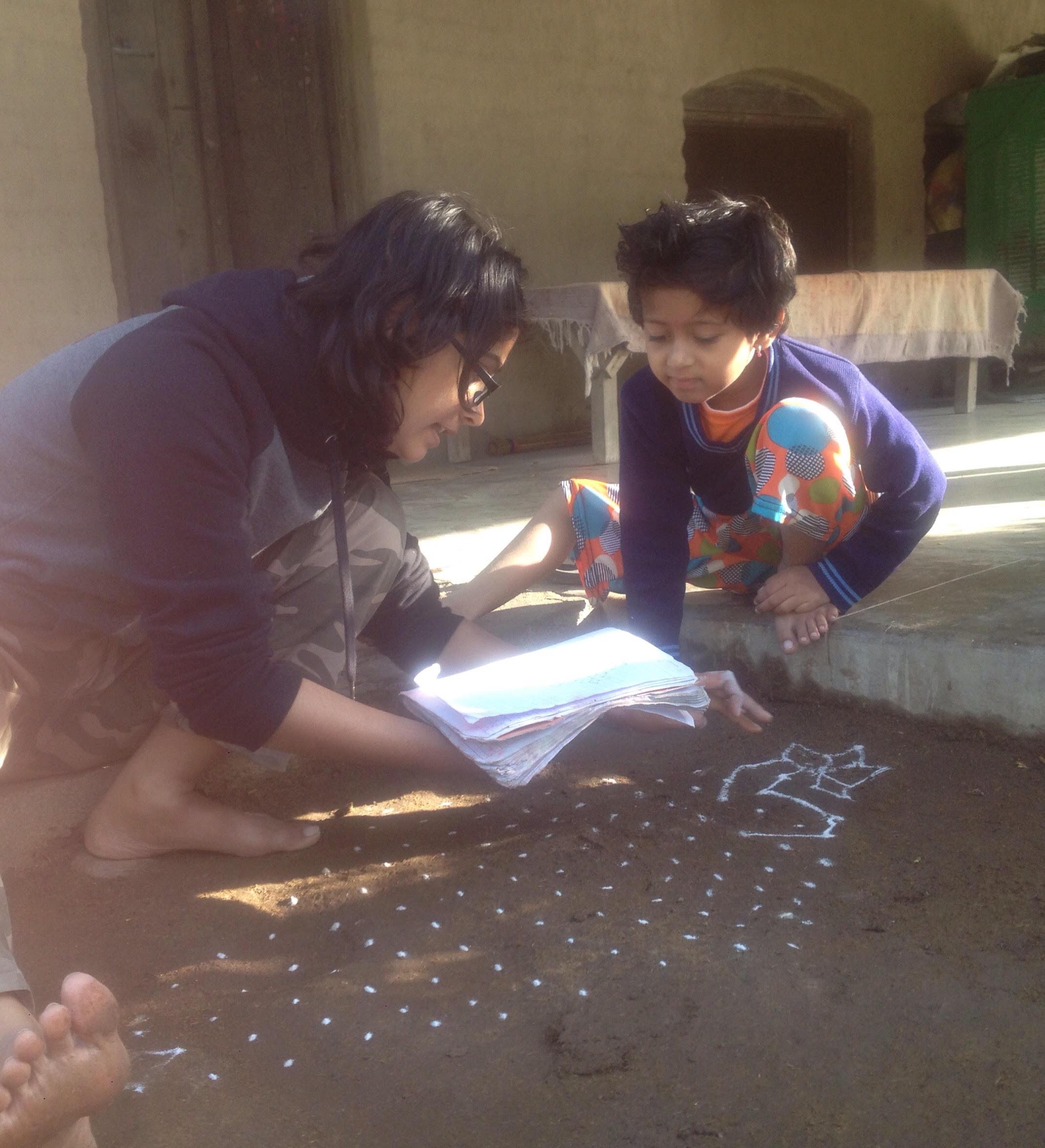 Kushi and Paridhi