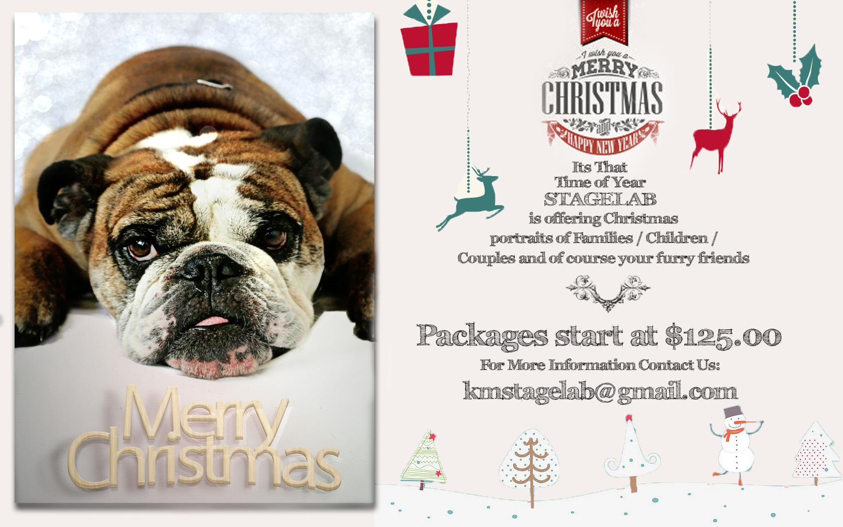 Christmas Card Promo