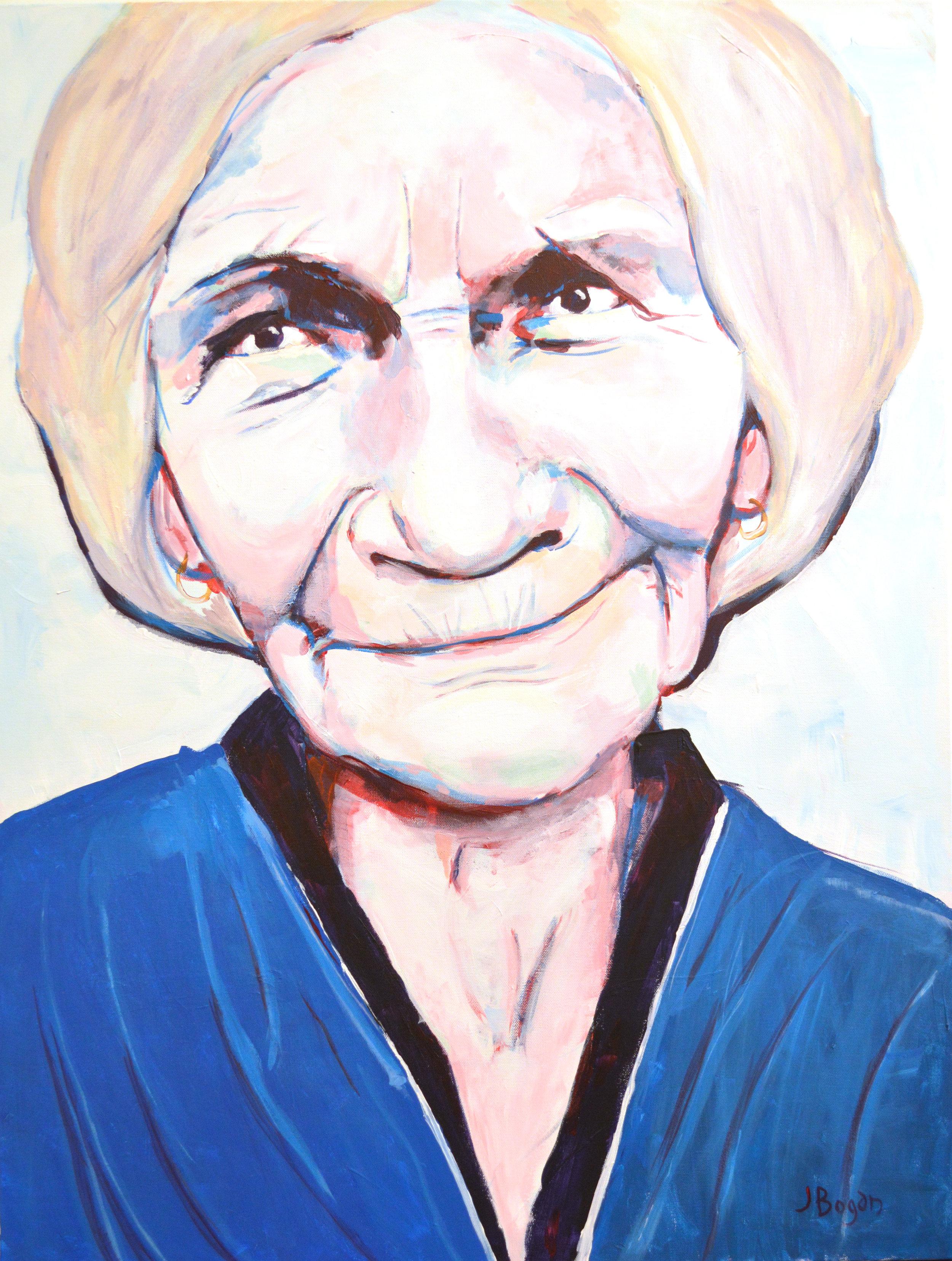Mary - 30X40 Acrylic on Canvas$850