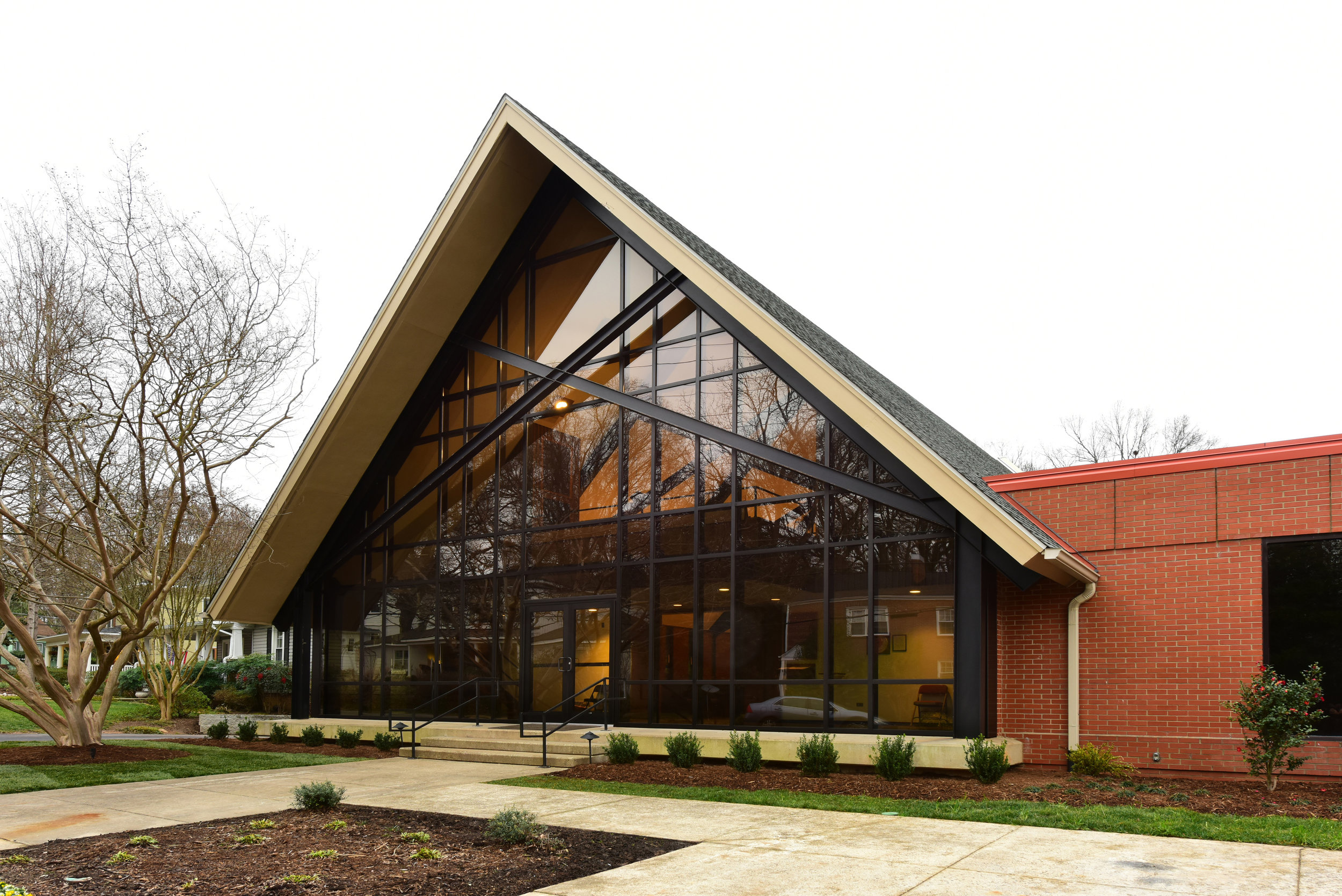A pleasant refresh for this sanctuary; First dedicated in 1949
