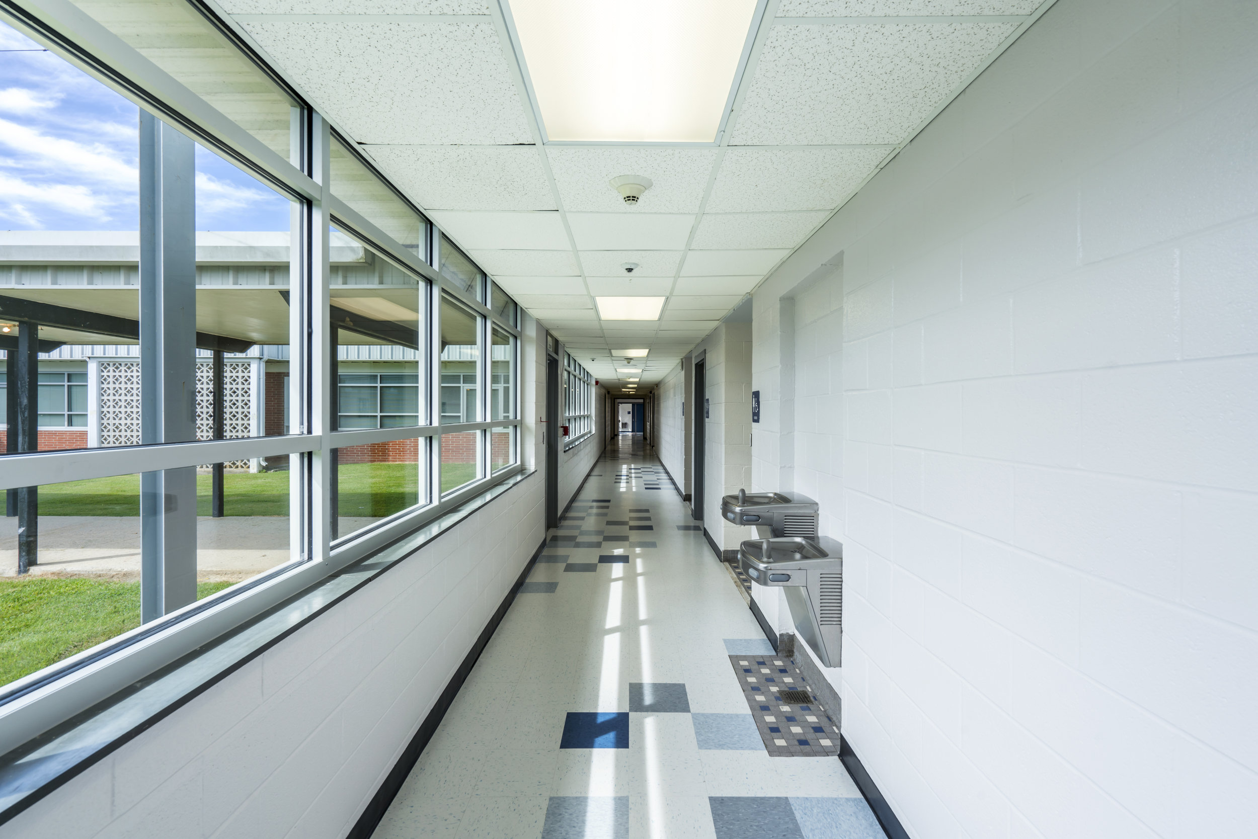 TYPICAL CORRIDOR - AFTER