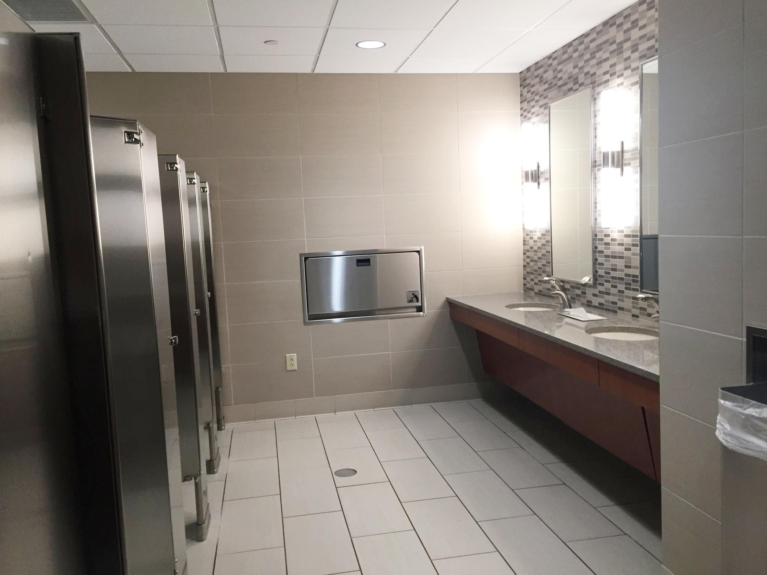 Common Area Restroom Renovation   2015