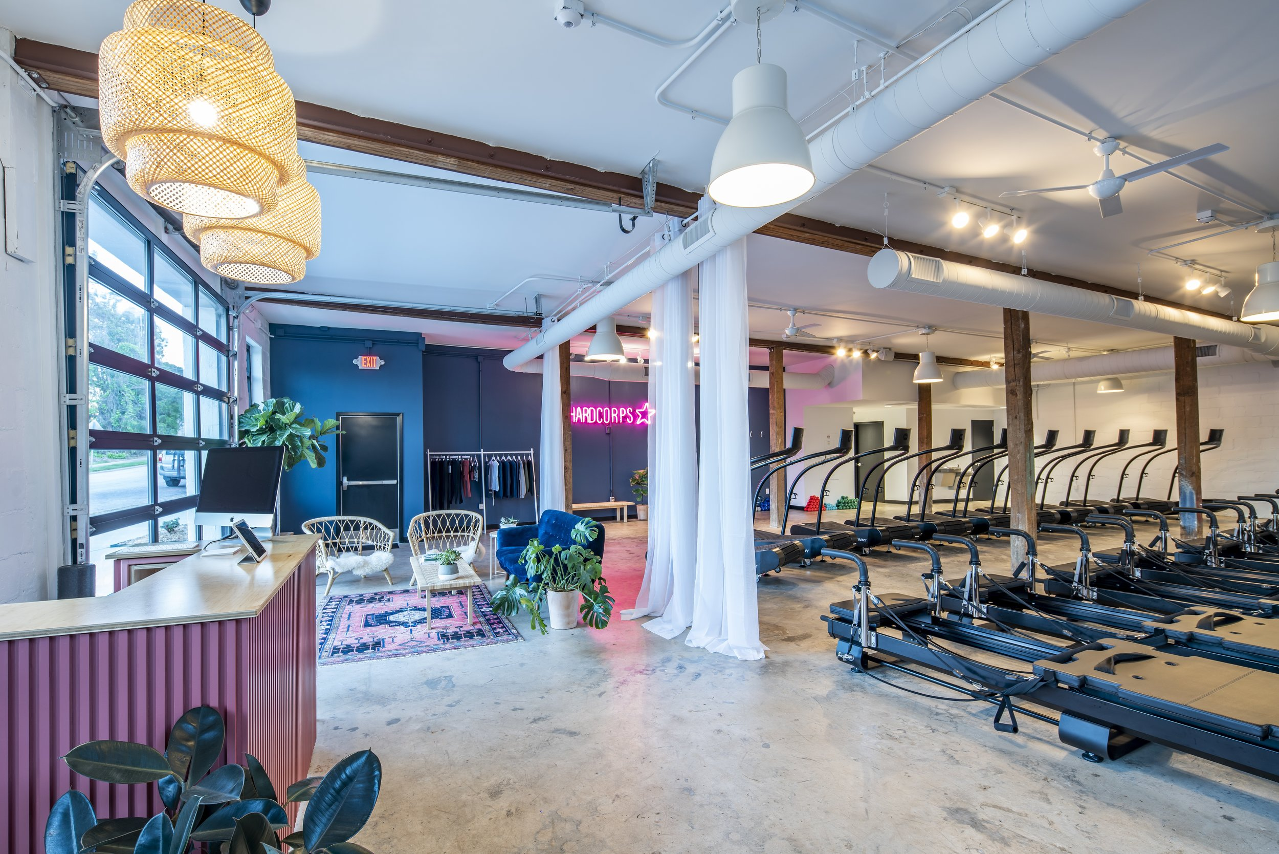 FLOWCORPS - 2,600 sq ft fitness studio