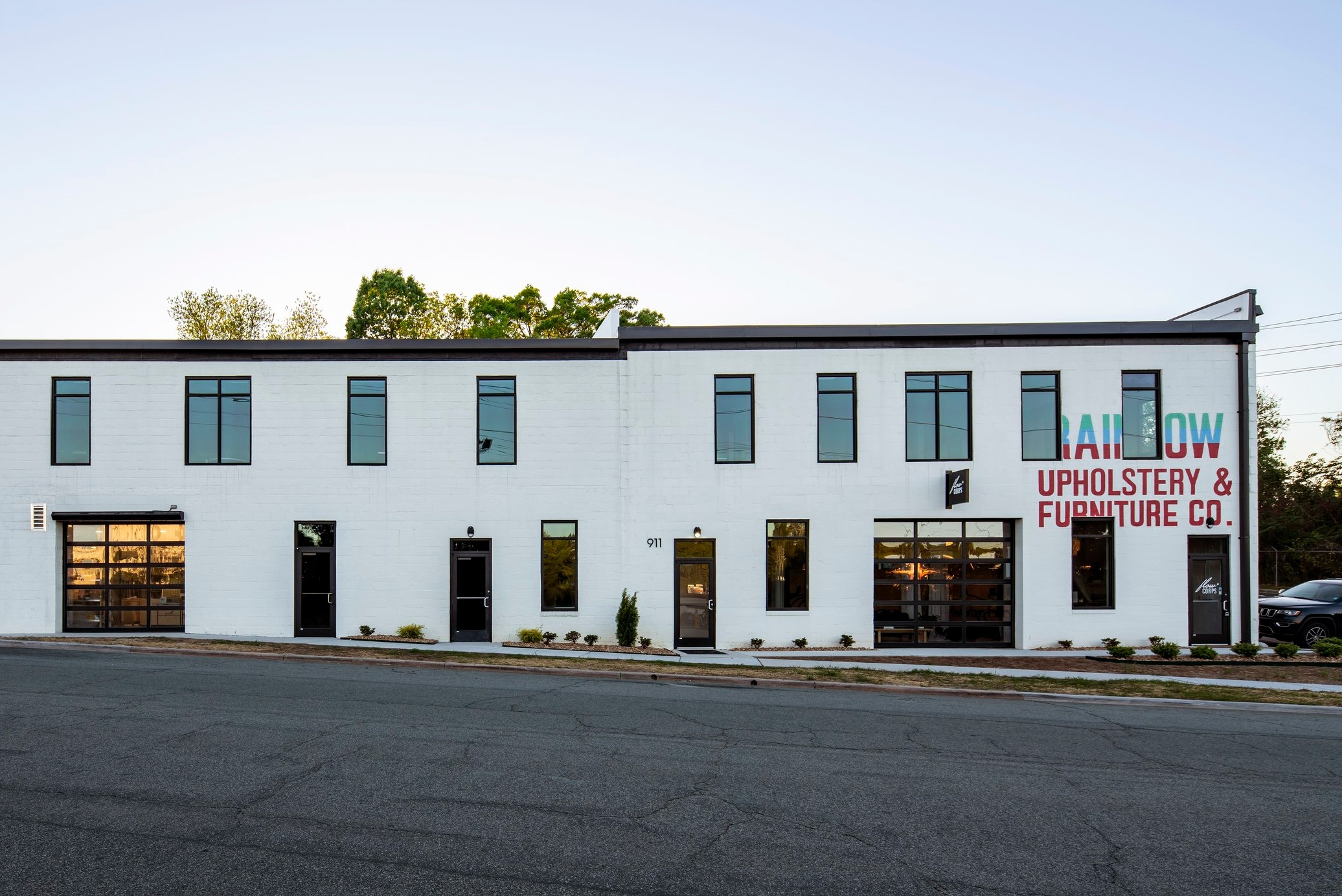 An old building gets a new life and Riley-Lewis completes upfits for new tenants