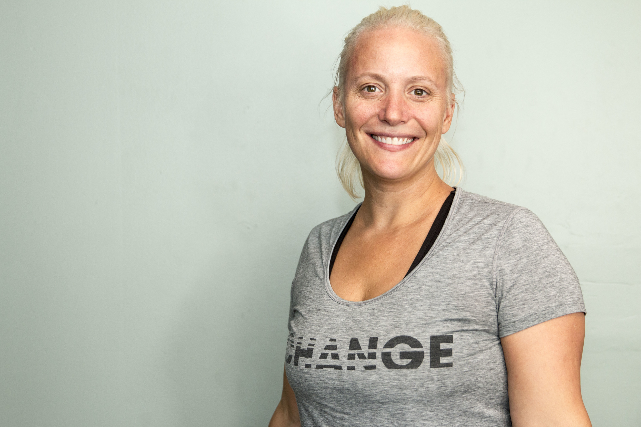 Laura Patterson, founder and owner of Vibe Yoga Stdio.