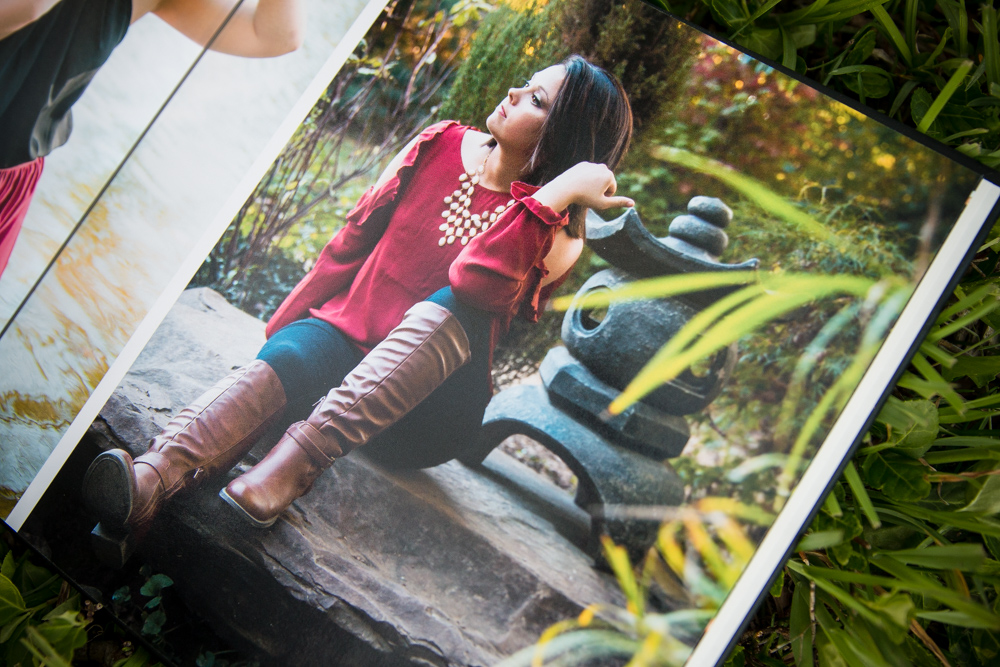 Photo albums for photo sessions. Created specially for each photo session by the photographer.