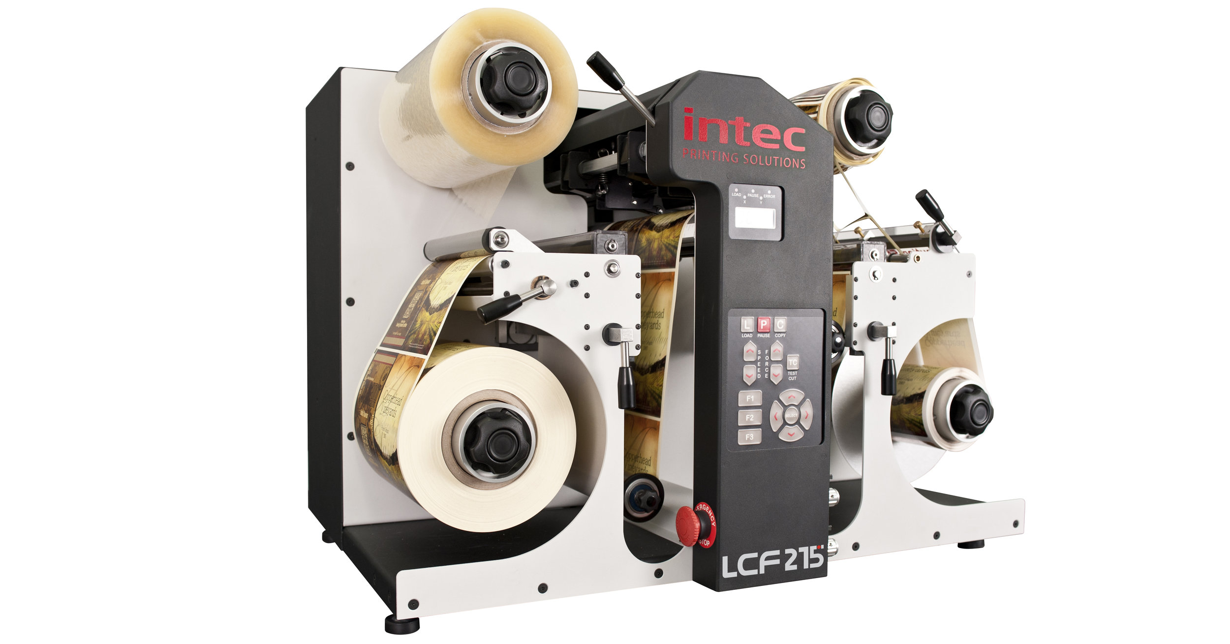 The fully specified LPS215 label printing and finishing solution includes everything your business needs to produce high quality labels with ease and efficiency. This superb system includes the LP215 label printer, LCF215 label finishing solution and the Intec RIP pod complete with PC workstation and all the software needed to produce on demand labels. The LP215 printer is the ideal solution for any business that requires high quality, short to medium run label production.
