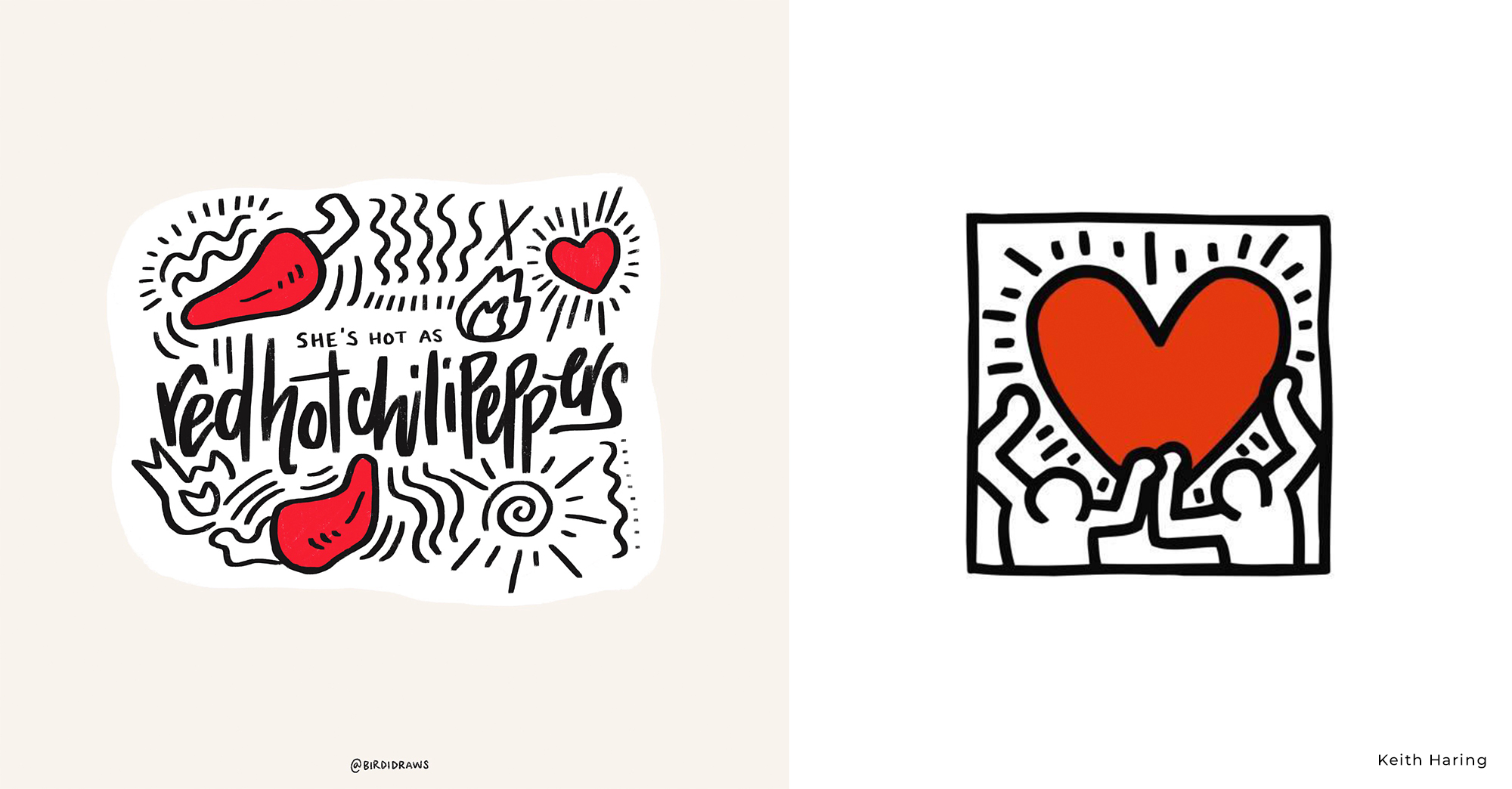 Roy Woods vs Keith Haring