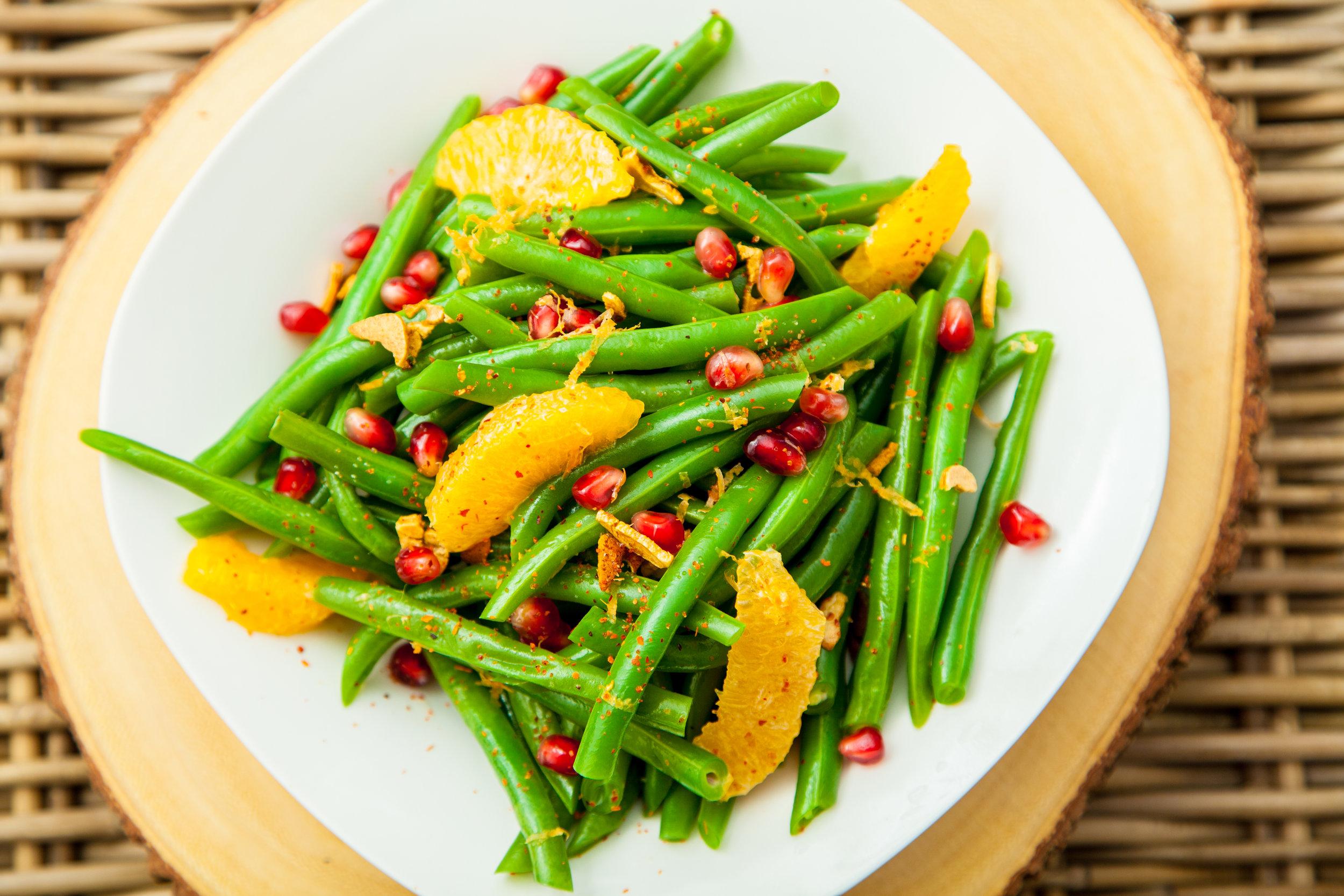 Chef Claudia Sandoval - Green Beans & Citrus