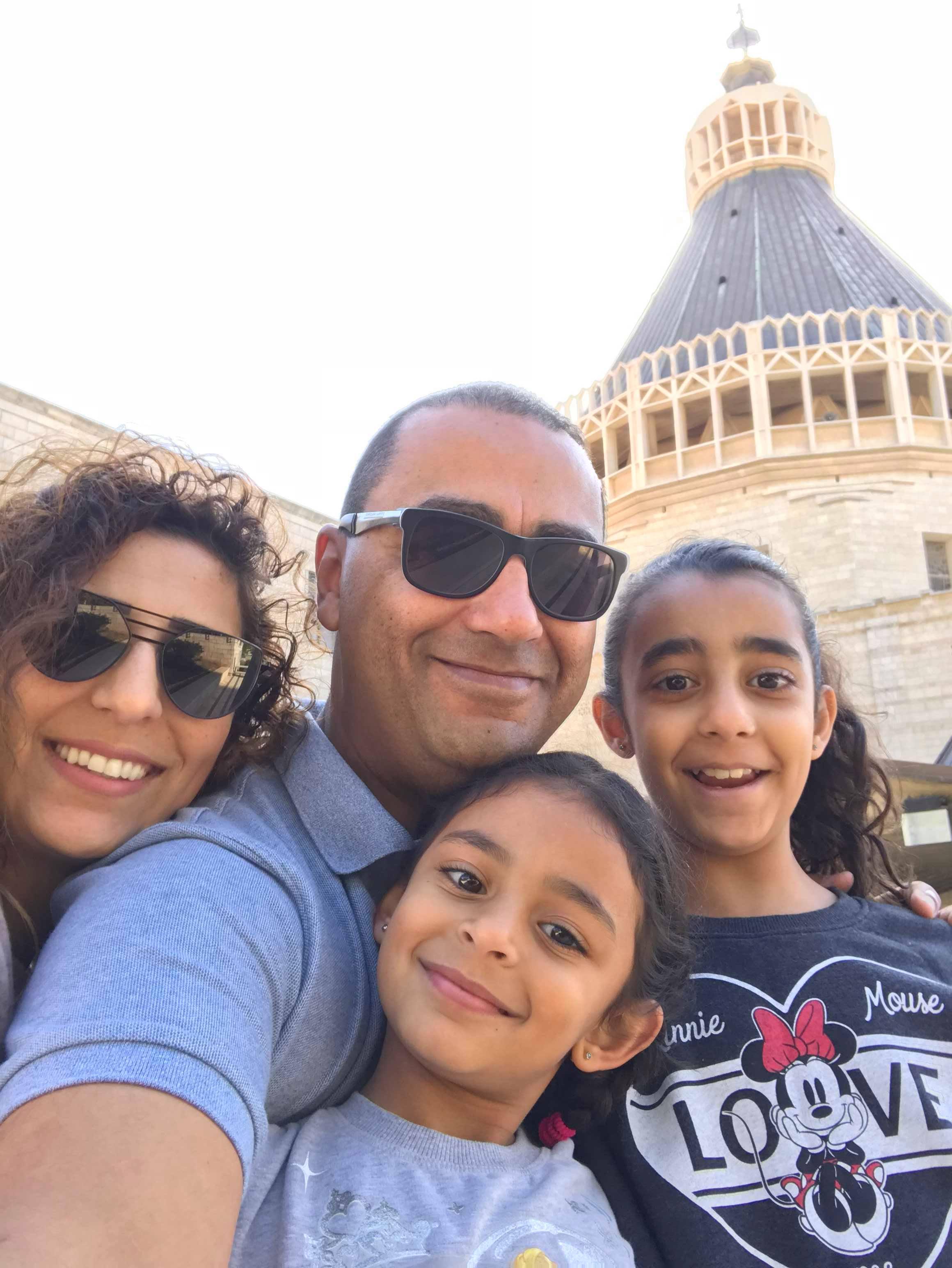Rami Fellemon and his family