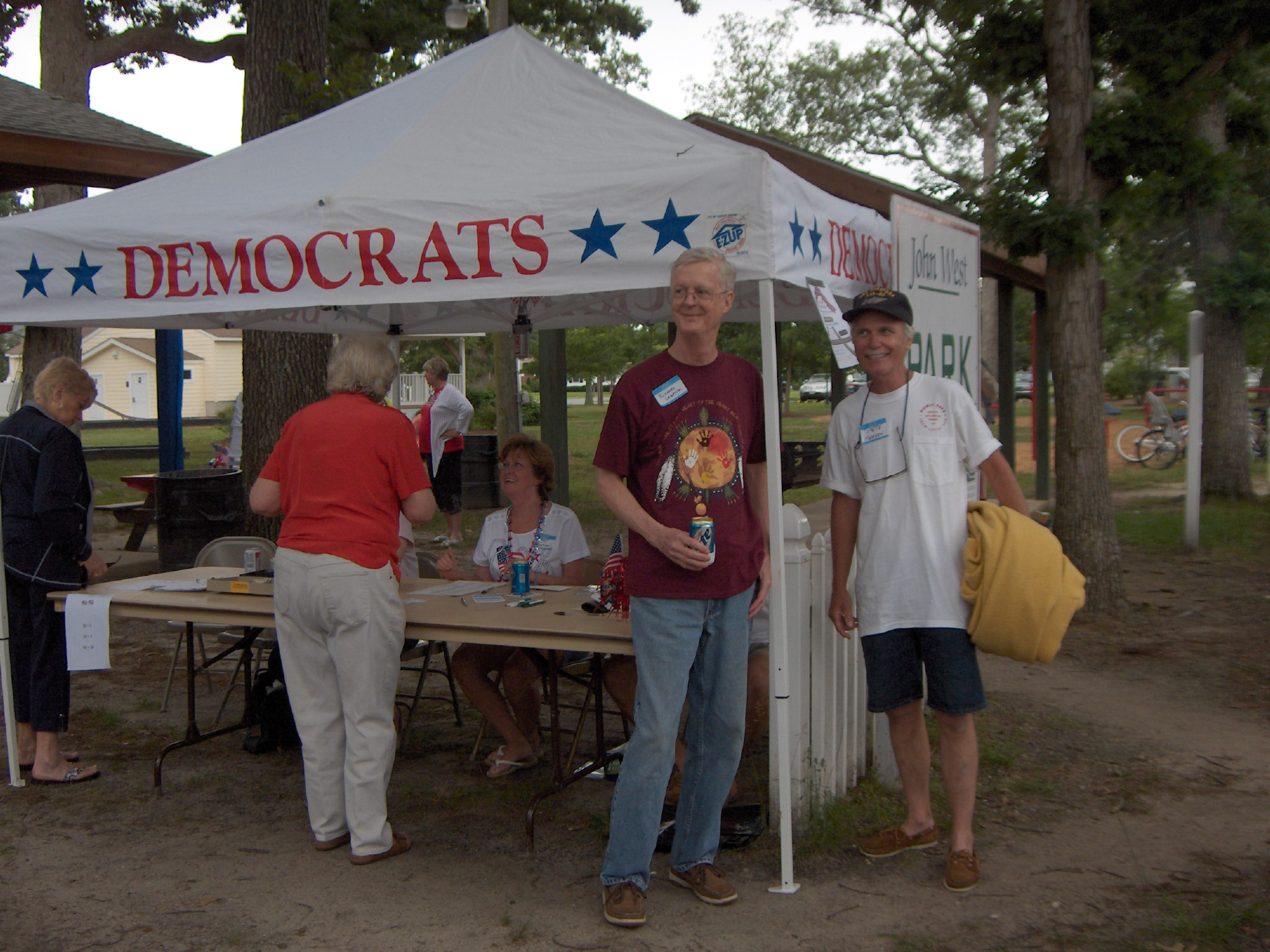 Picnic in the Park, the annual fundraiser of the 38th District Democratic Committee.