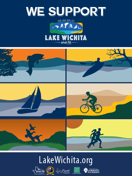 lake wichita poster