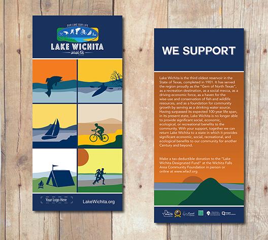 Rack Cards Lake Wichita
