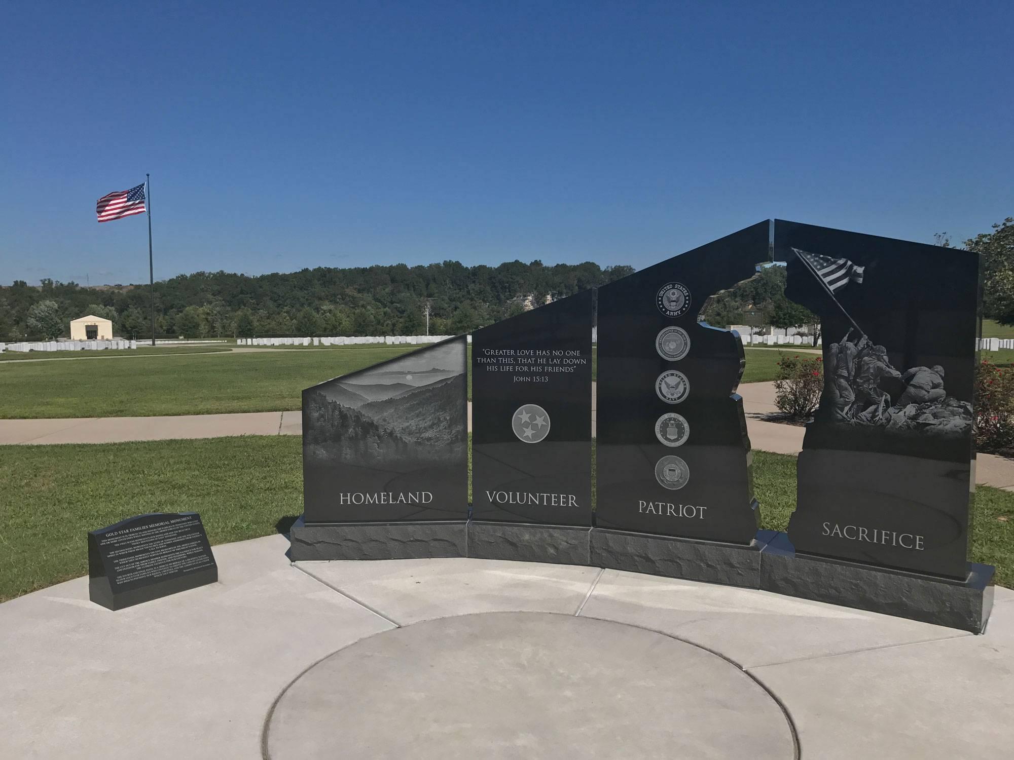 Gold Star Families Memorial - Lake Wichita