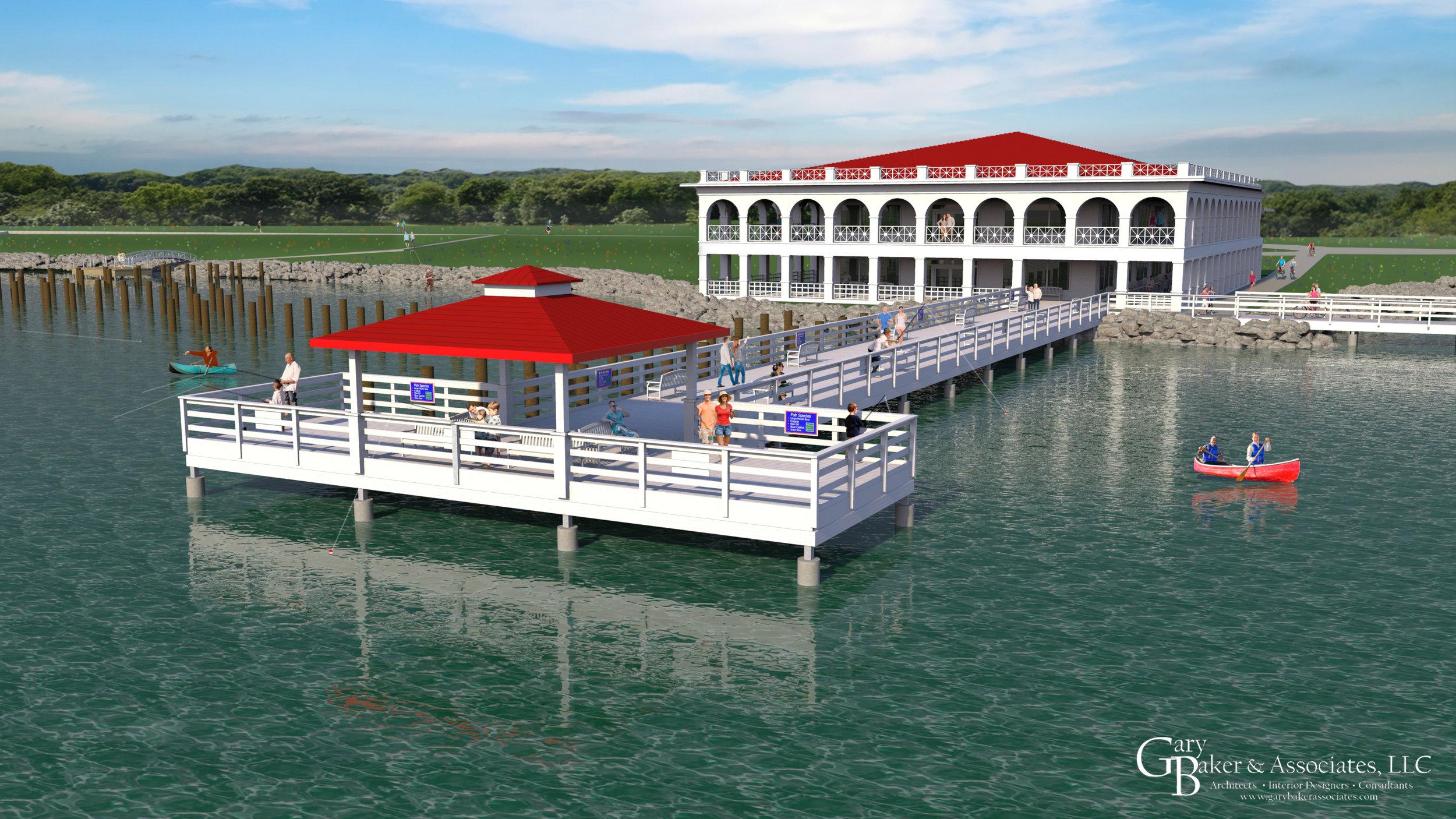 Pavilion & Boardwalk - Lake Wichita