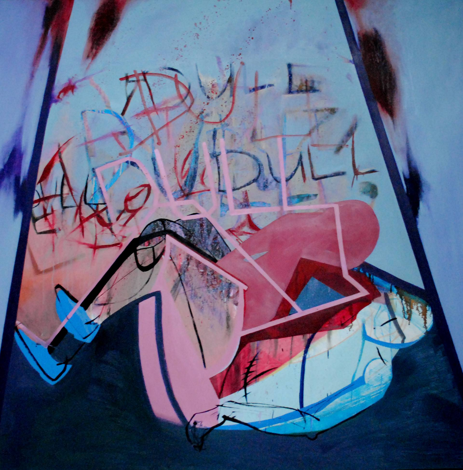 """Dull"", Agata Czeremuszkin-Chrut, Oil on Canvas, 150x150cm, 2012, 1700€"