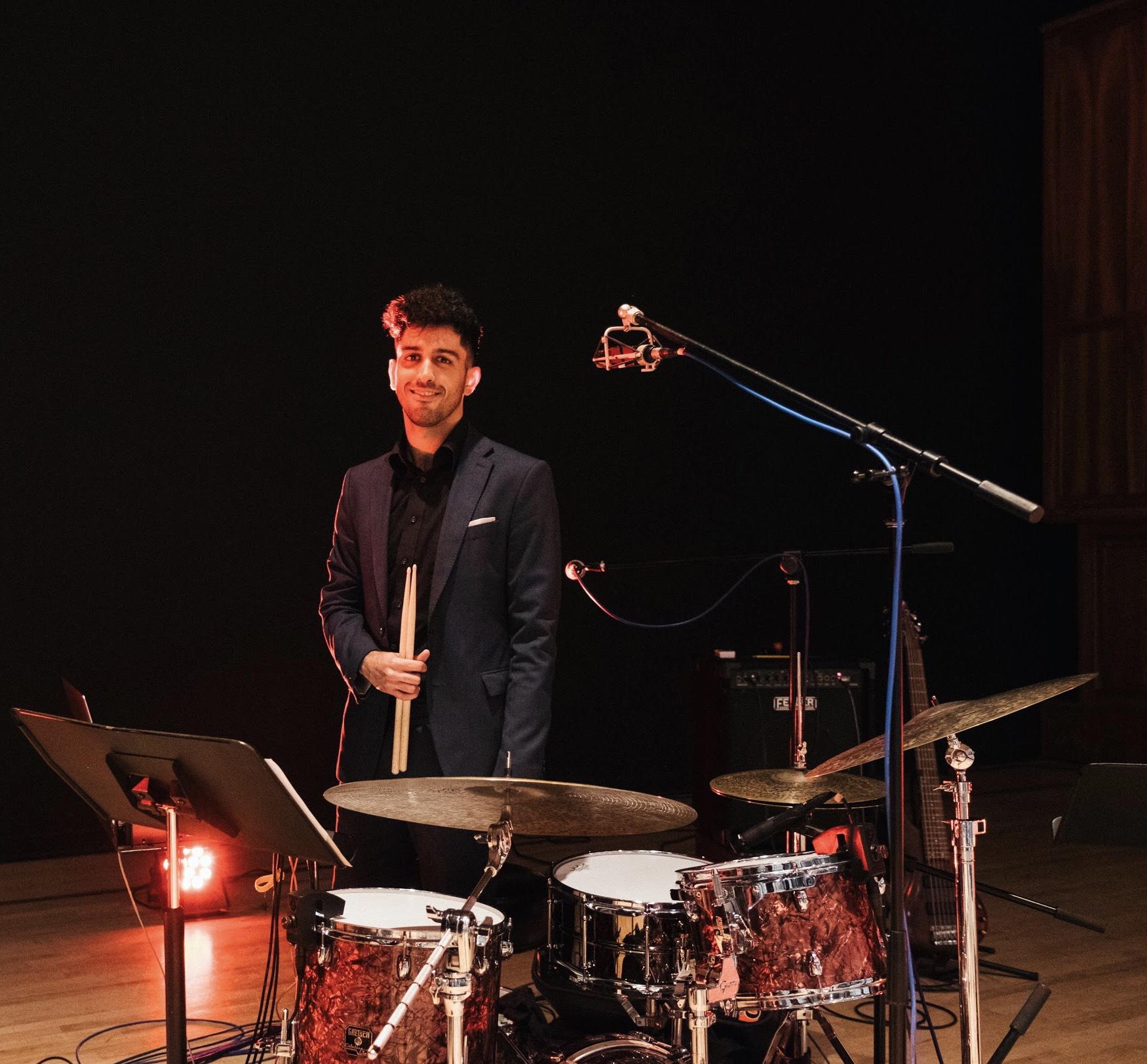 Drums & Piano Teacher Koosha Hakimi