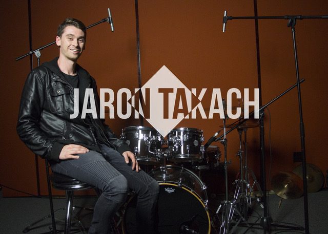 Drum Teacher Jaron Takach
