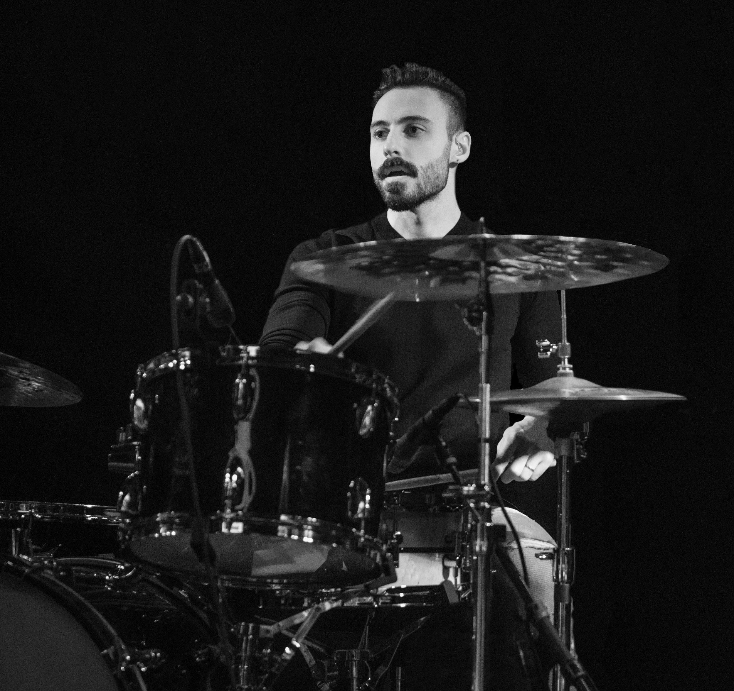 Drum Teacher Luca Bertaglia