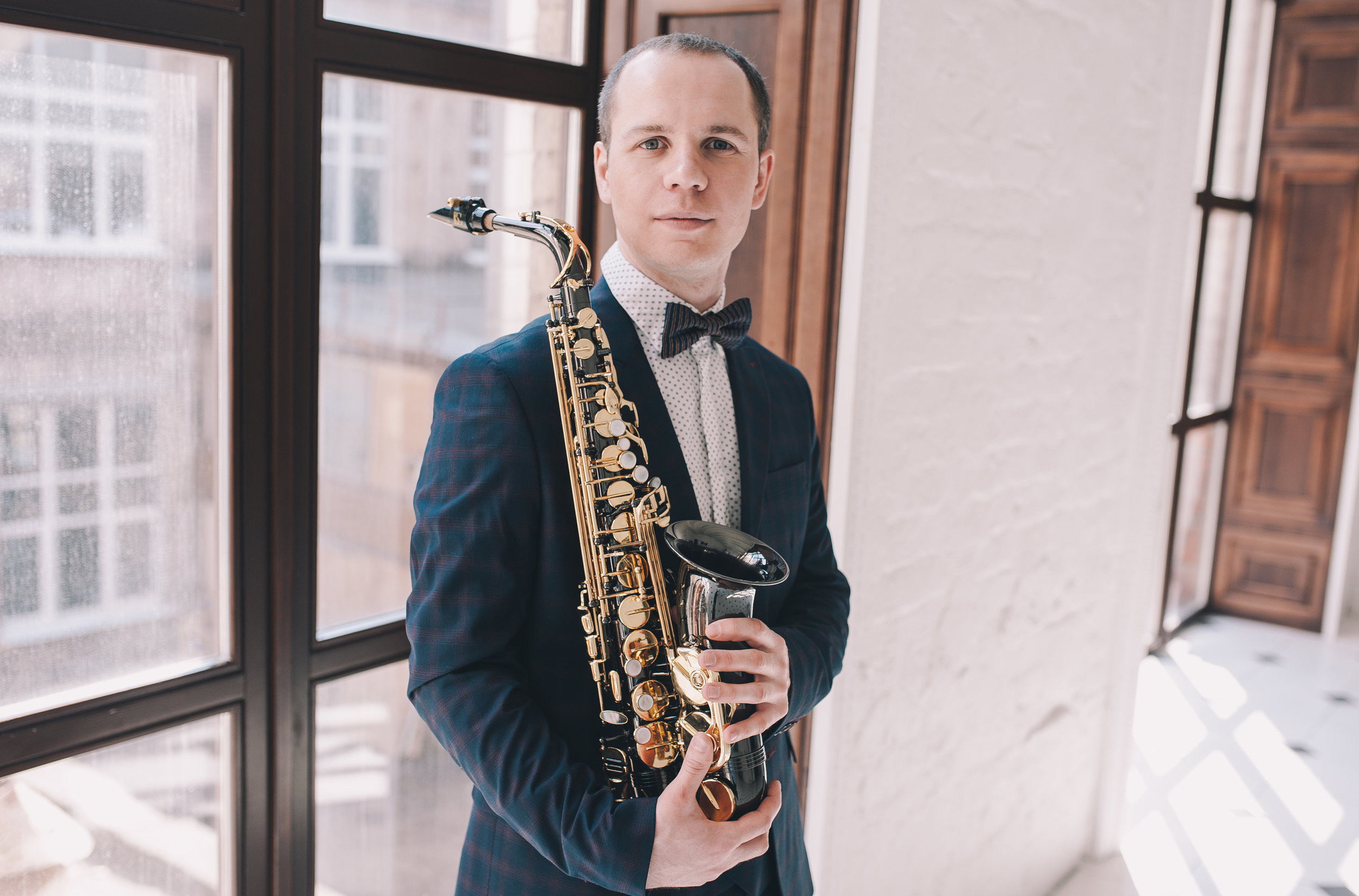 Saxophone Teacher Nick York