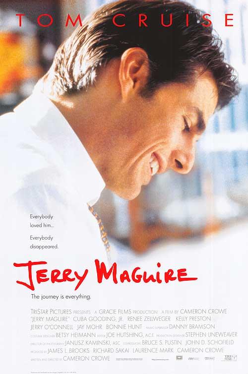 Jerry Maguire (1996), spoken by Rod Tidwell/Cuba Gooding Jr.