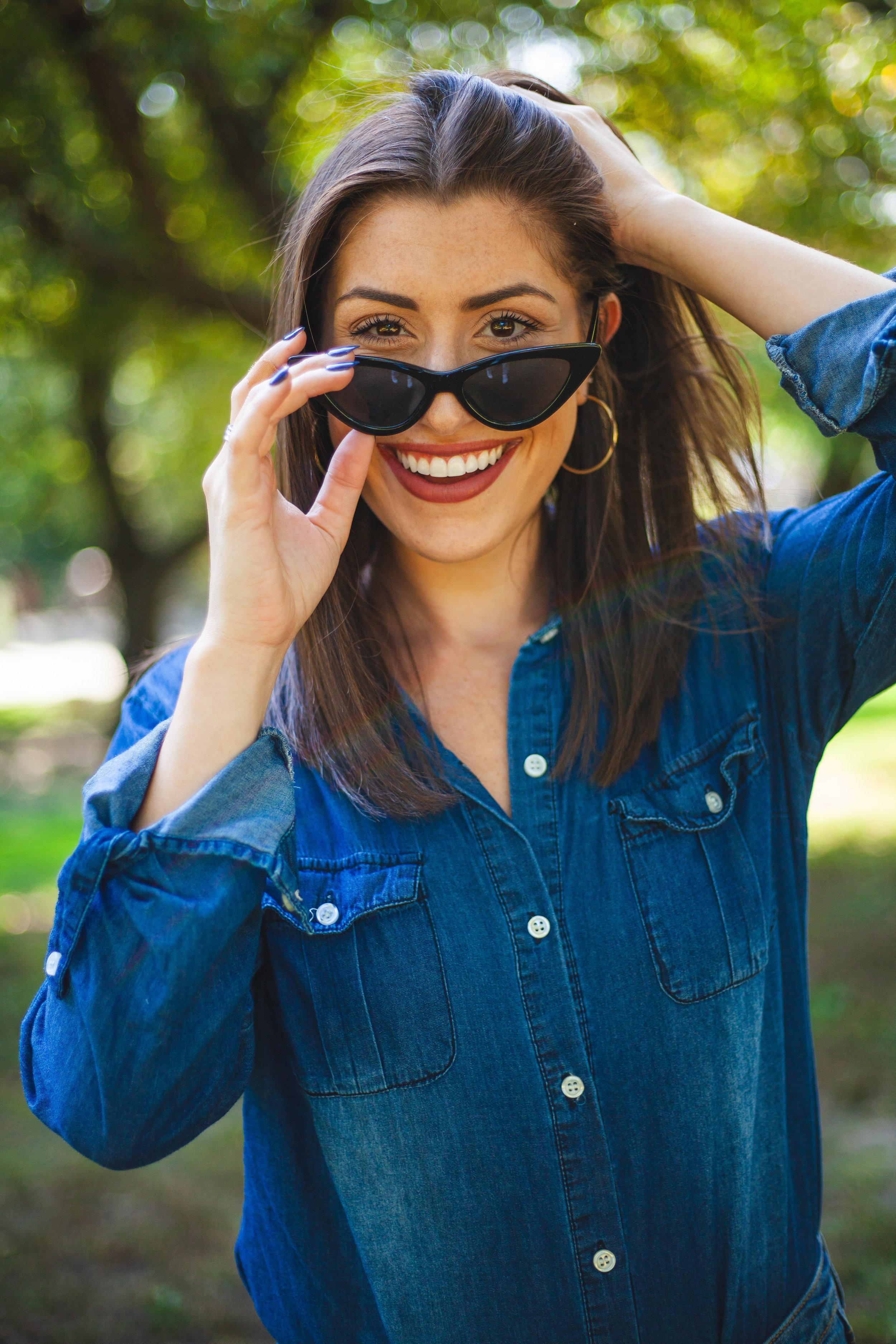 Julia Procaccino Photography @julia_procaccino   SojoS Clout Goggles Cat Eye Sunglasses
